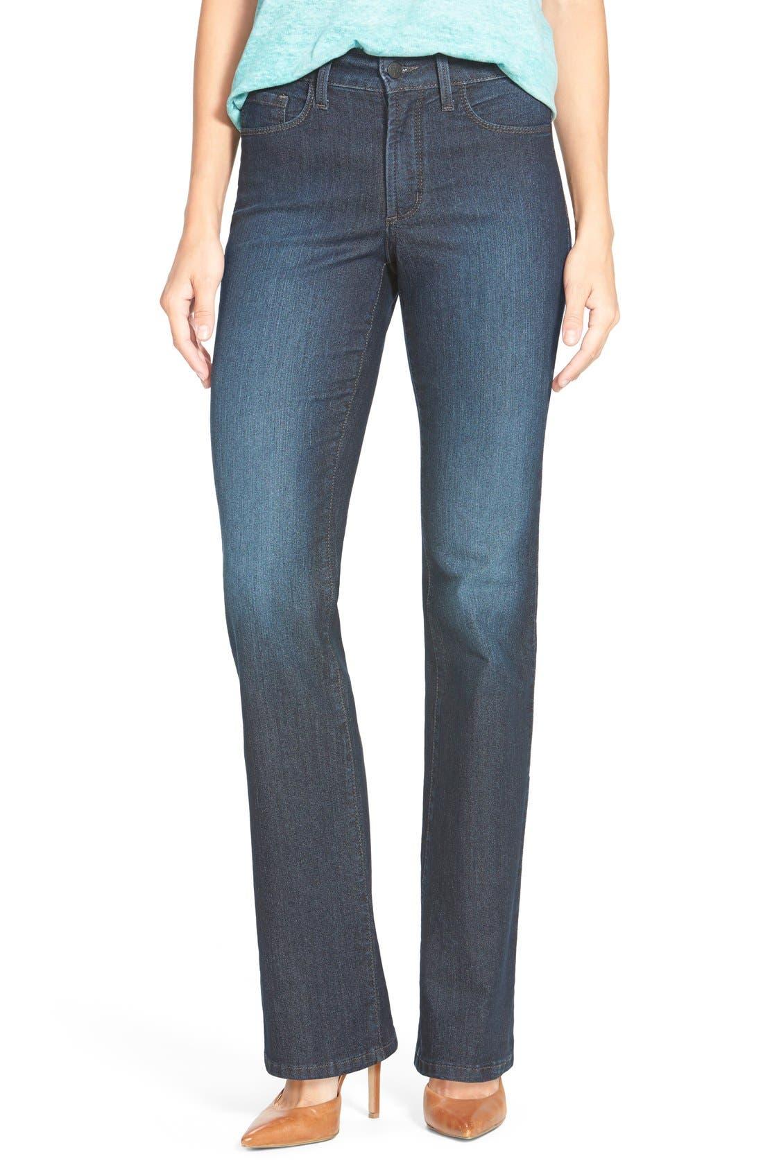 NYDJ 'Barbara' Stretch Bootcut Jeans (Burbank) (Regular & Petite ...