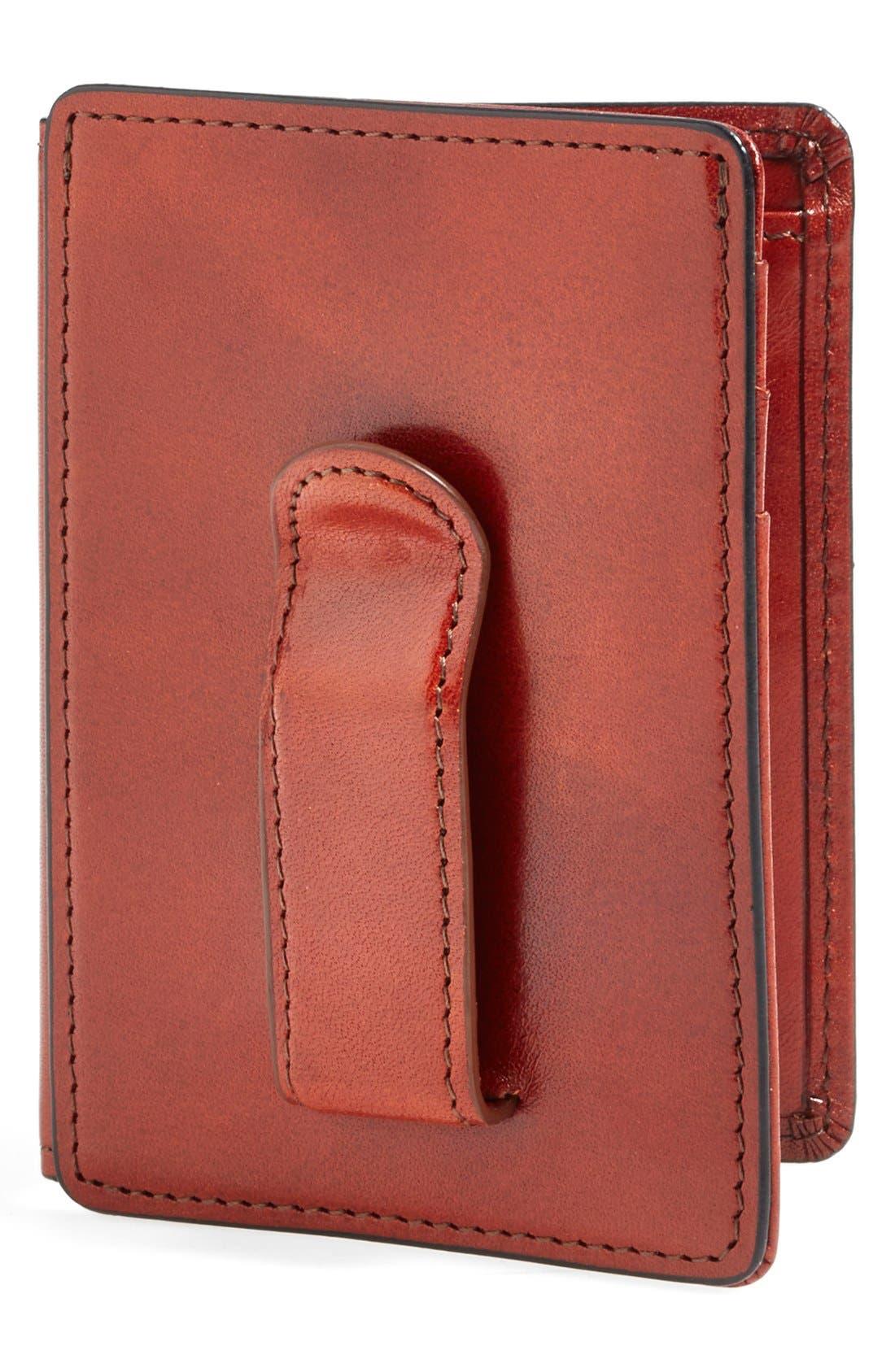 Bosca 'Old Leather' Front Pocket ID Wallet