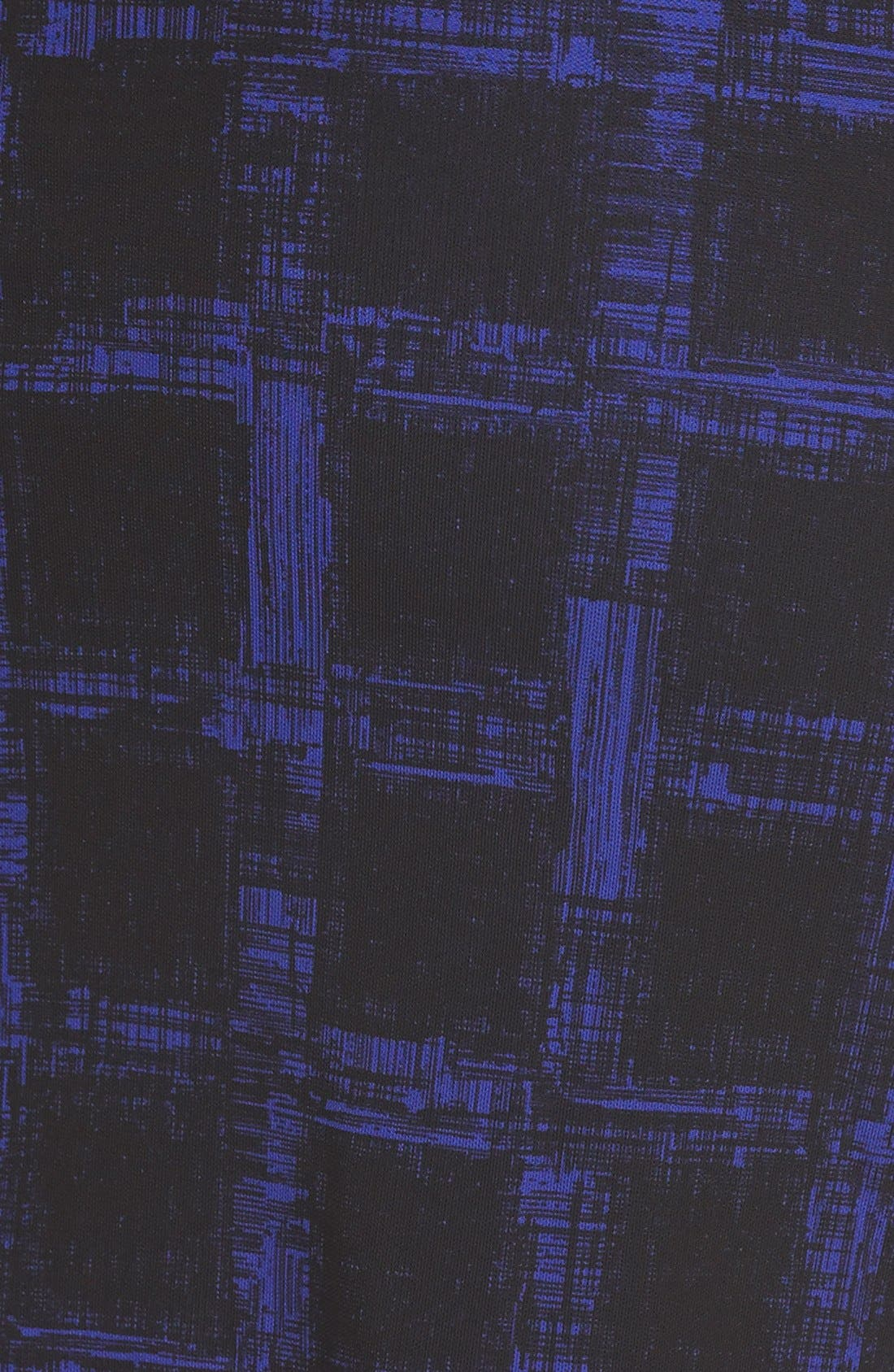 Alternate Image 3  - BOSS 'Empiria' Windowpane Print Jersey Sheath Dress
