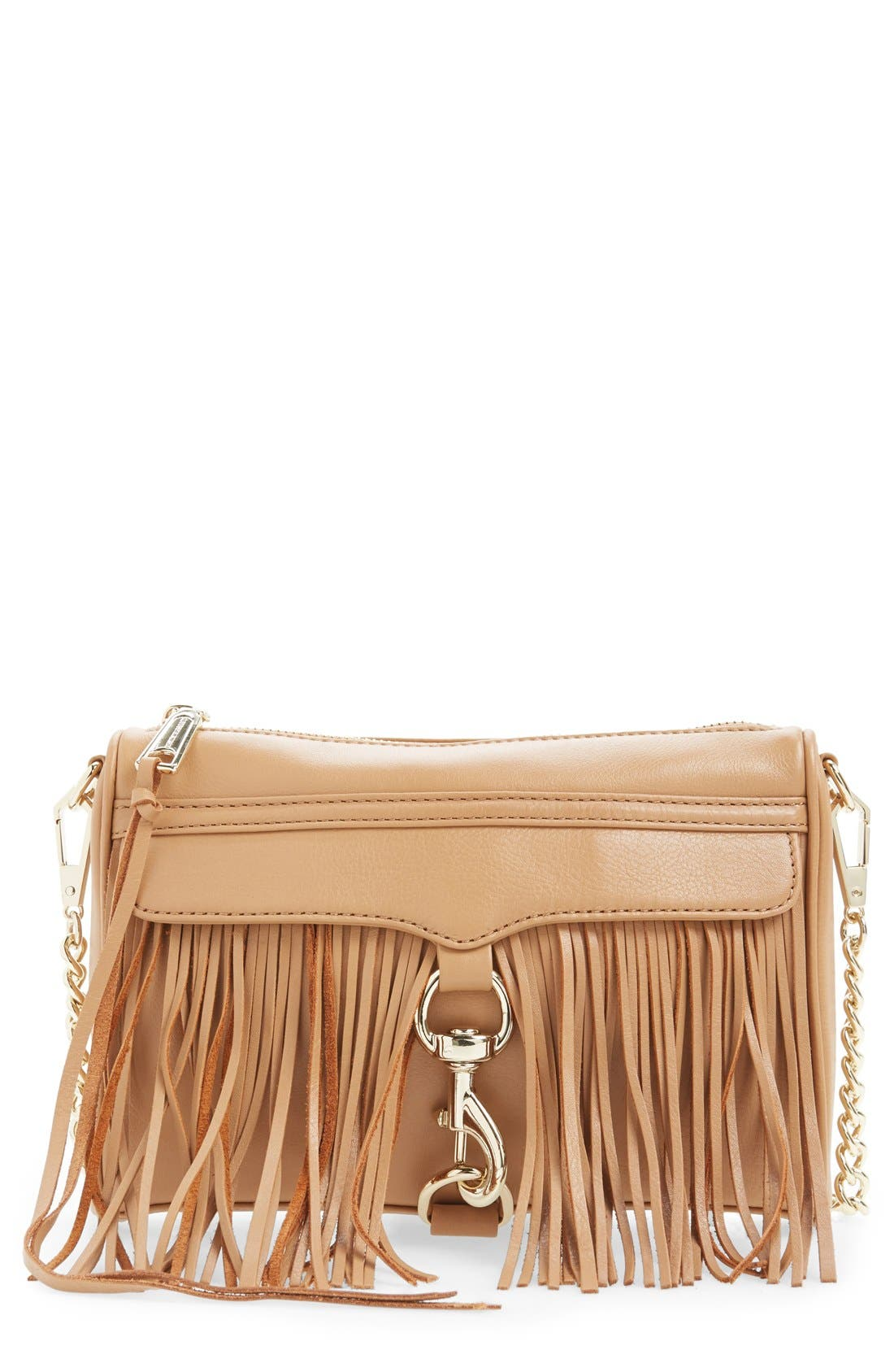 Alternate Image 1 Selected - Rebecca Minkoff 'Fringe Mini MAC' Convertible Crossbody Bag (Nordstrom Exclusive)