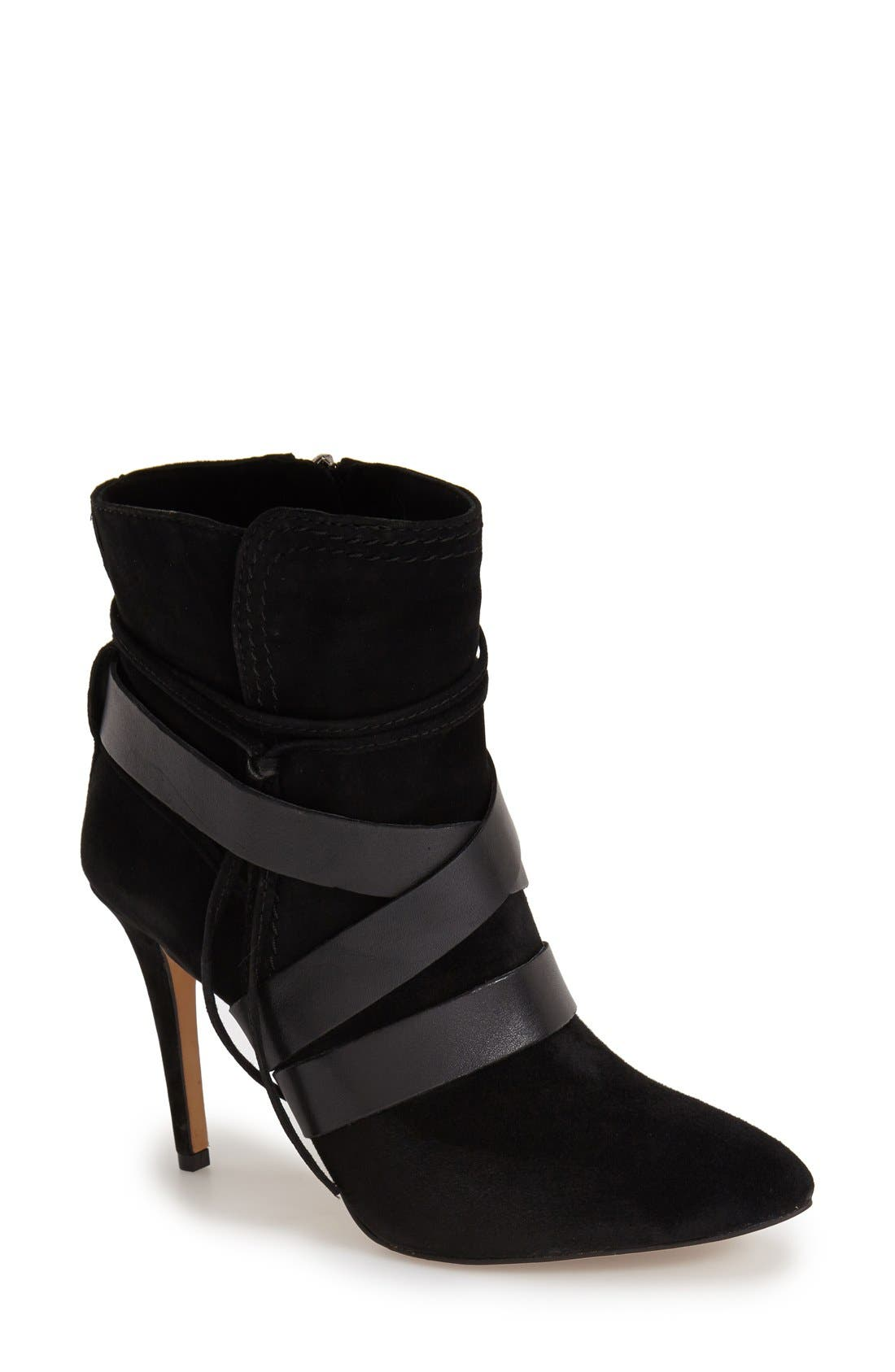 Alternate Image 1 Selected - Vince Camuto 'Solter' Pointy Toe Bootie (Women)
