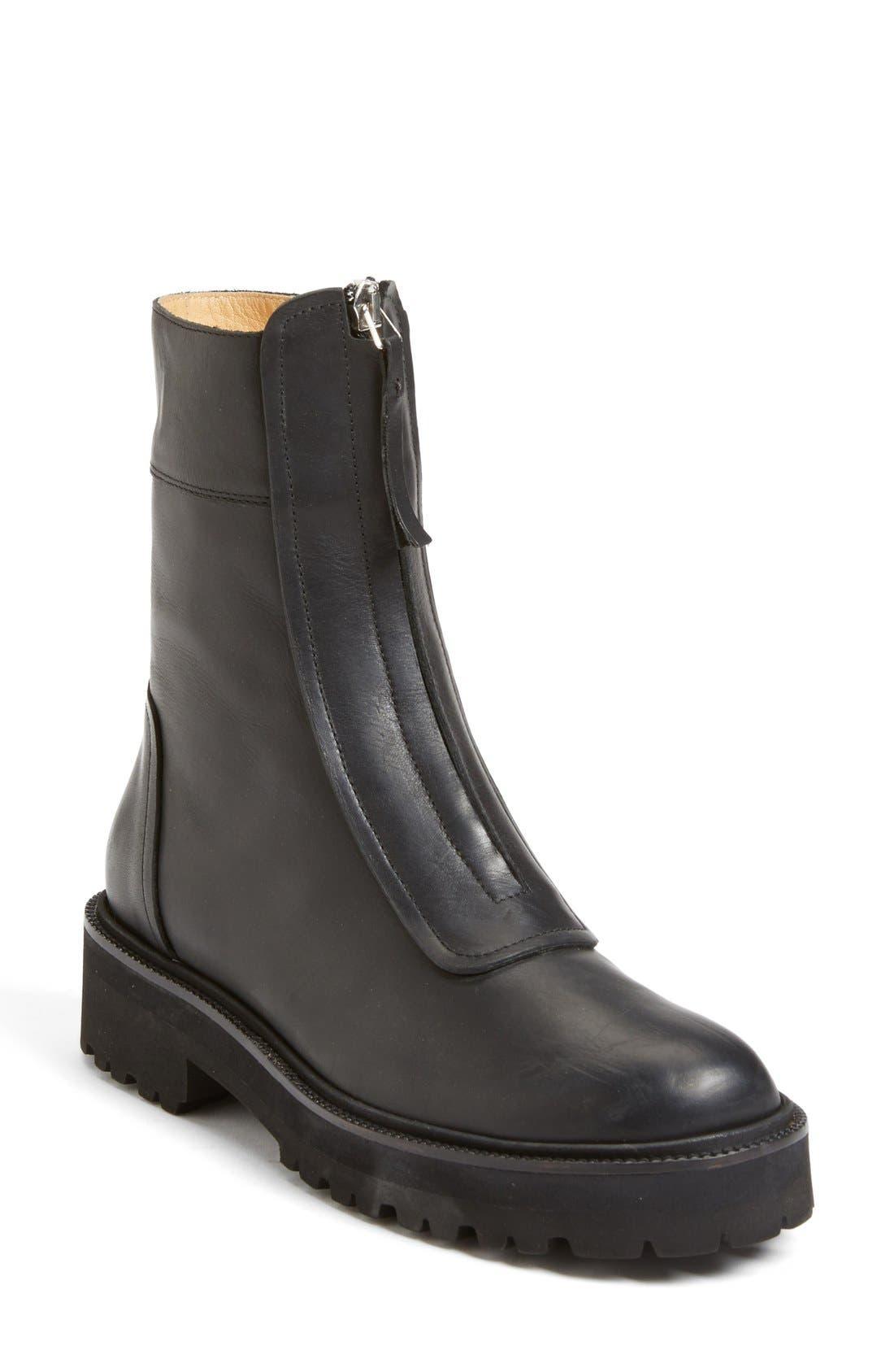 Alternate Image 1 Selected - MM6 Maison Margiela Zip Chelsea Boot (Women)