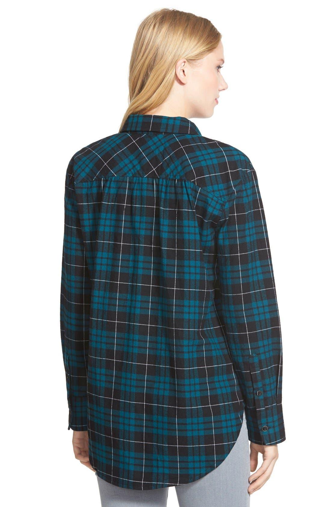 Alternate Image 2  - Sandra Plaid Flannel Shirt