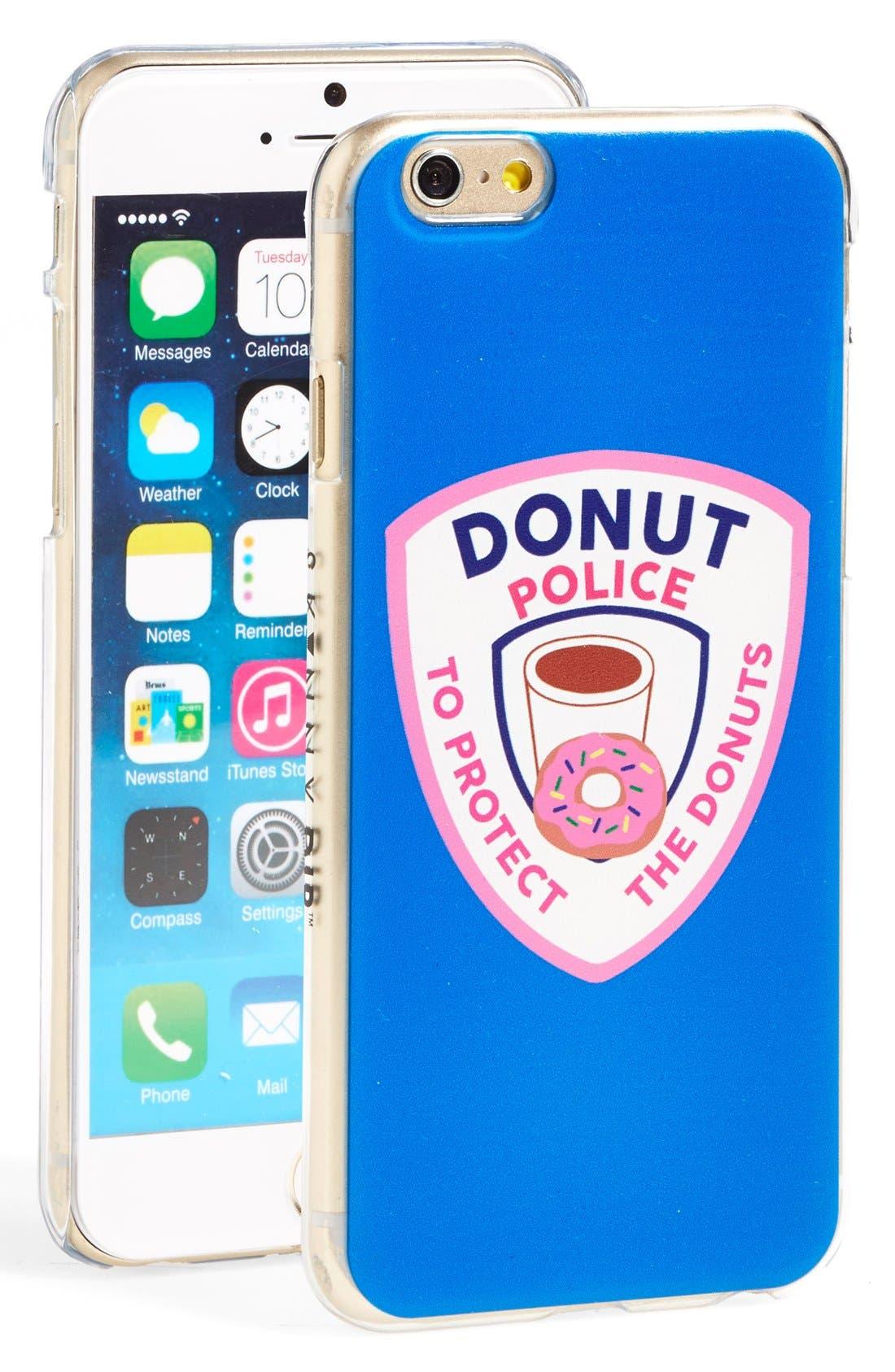 Main Image - Skinnydip 'Donut Police' iPhone 6 & 6s Case