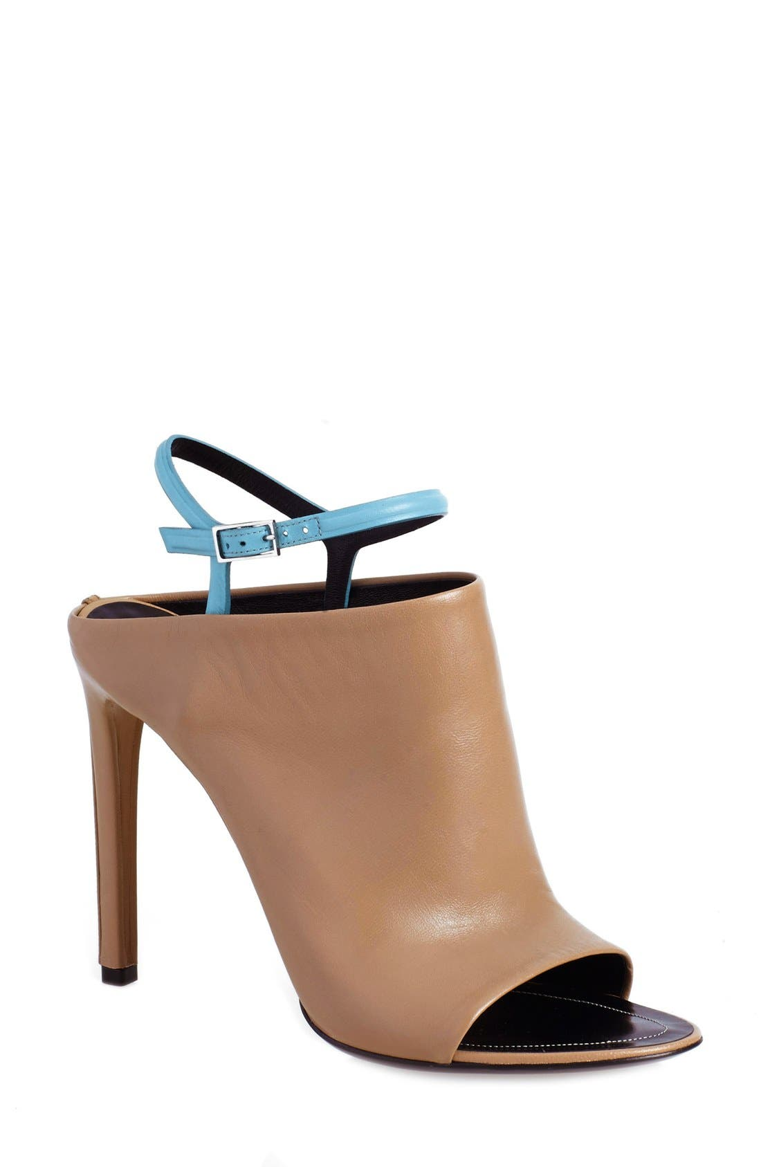 Main Image - Balenciaga 'Glove' Bicolor Leather Open Toe Sandal (Women)