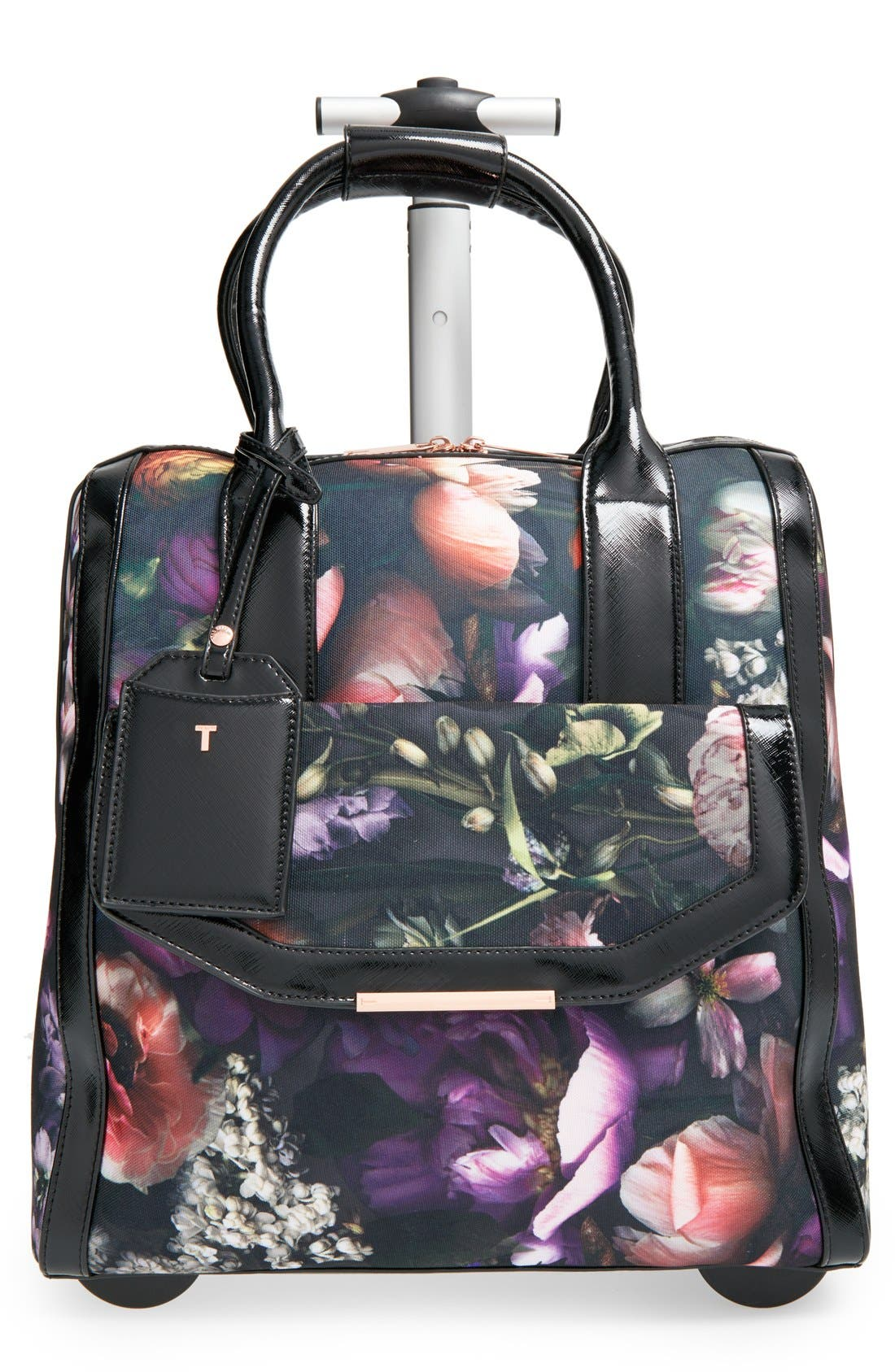 Main Image - Ted Baker London 'Shadow Flora' Travel Bag (16 Inch)
