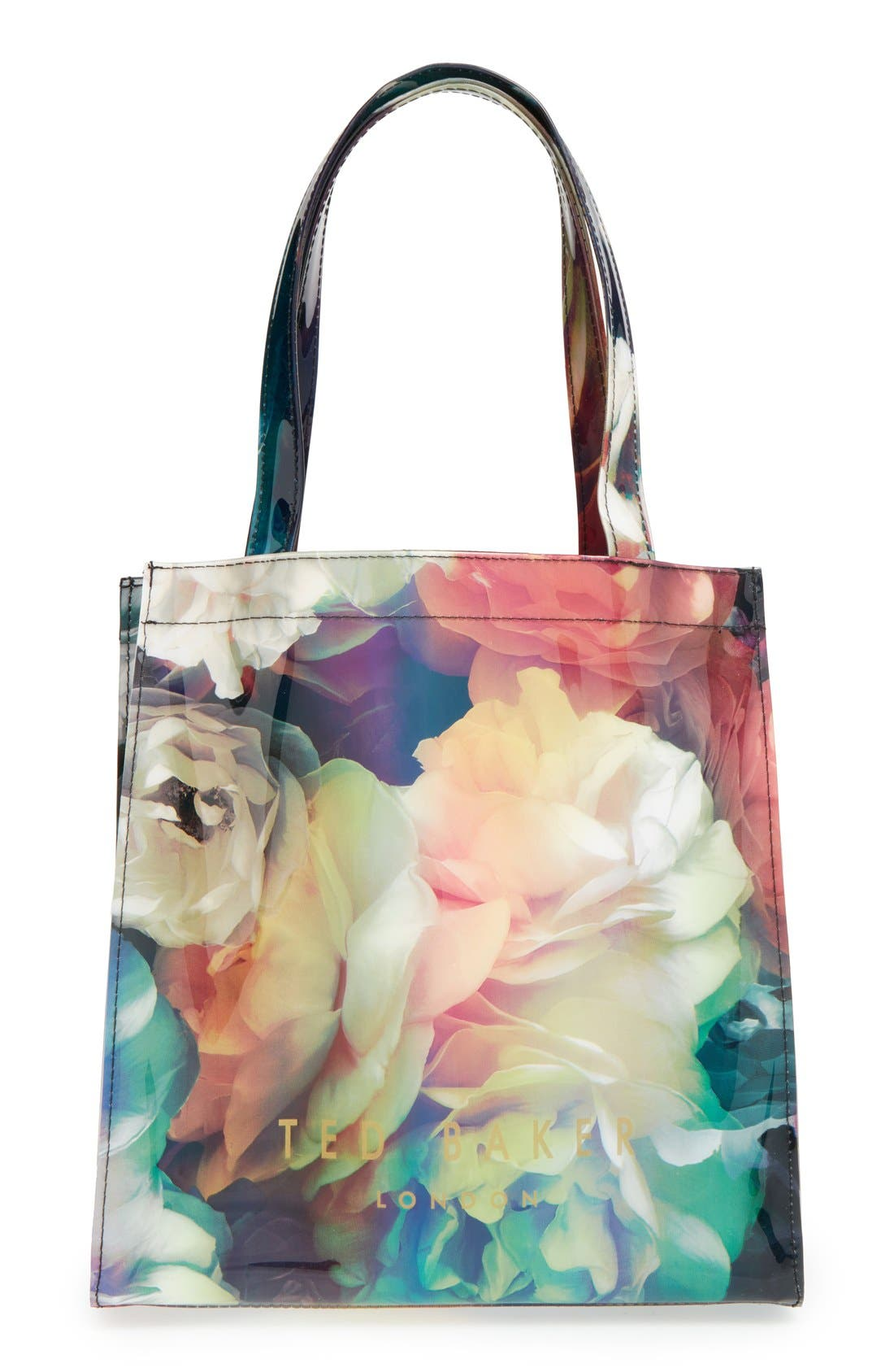 Alternate Image 1 Selected - Ted Baker London 'Small Technicolor Bloom Icon' Tote