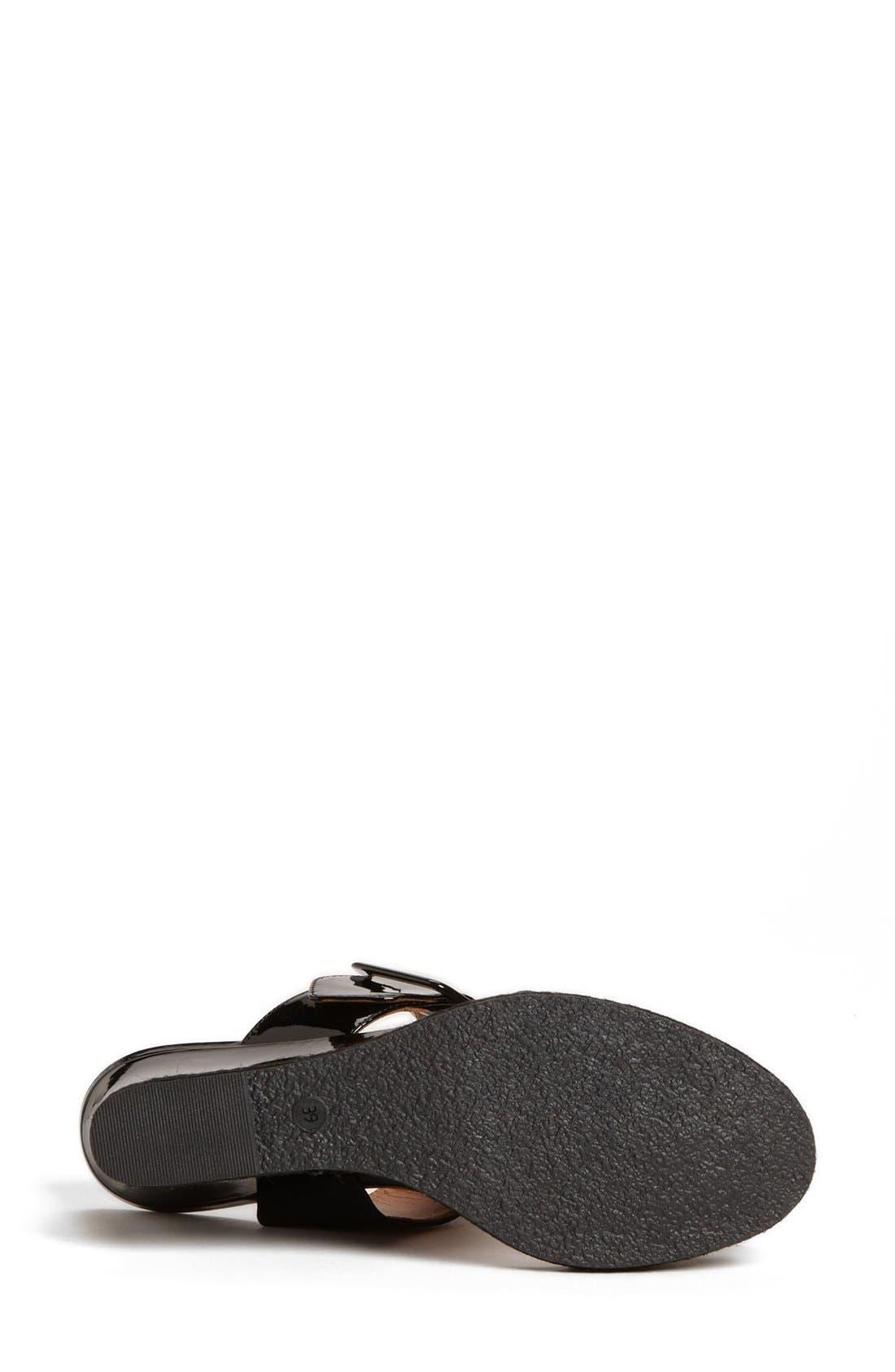 Alternate Image 7  - Fendi 'Vernis' Wedge Sandal (Women)