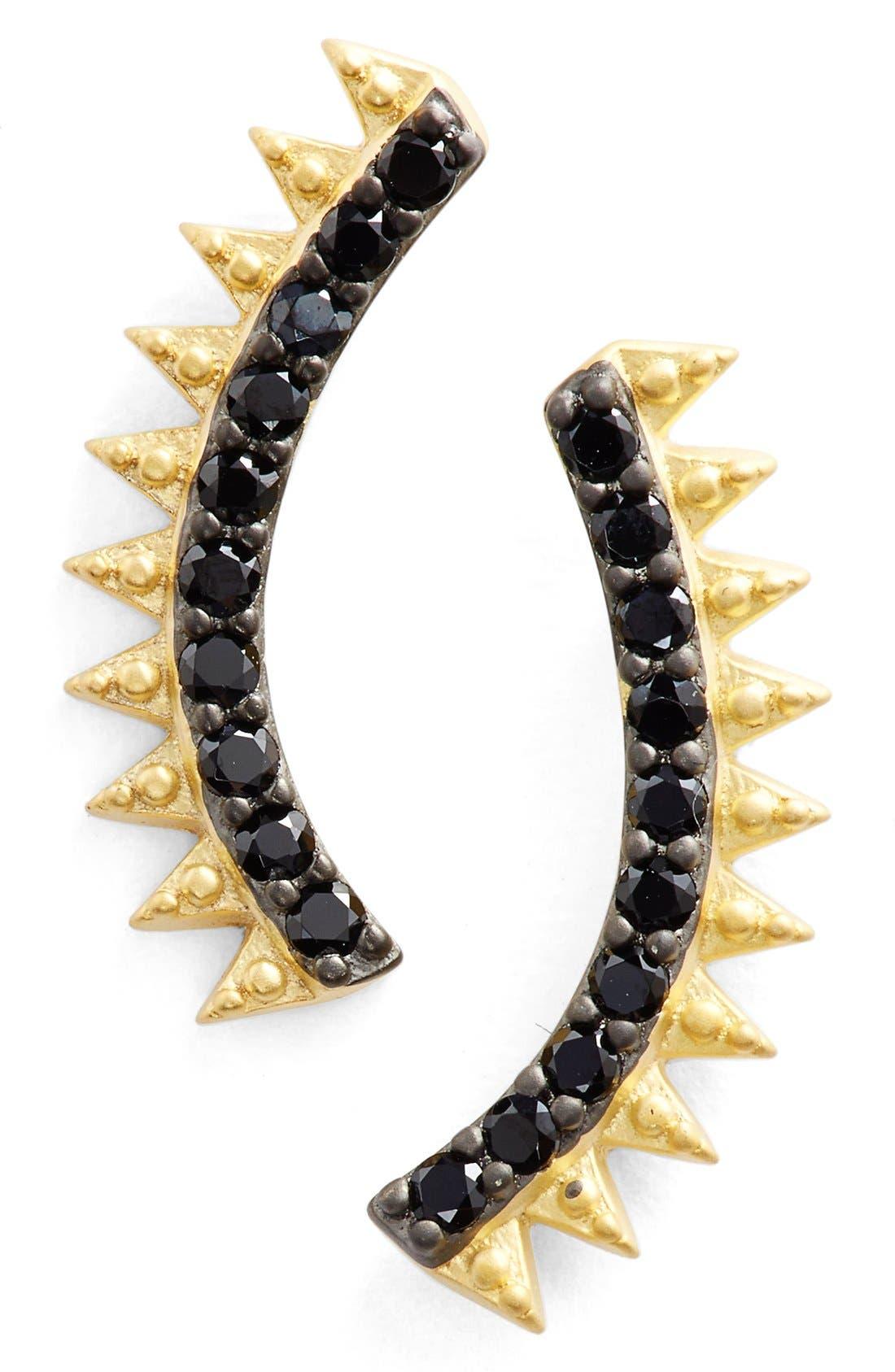 Alternate Image 1 Selected - FreidaRothmanSpike Linear Earrings