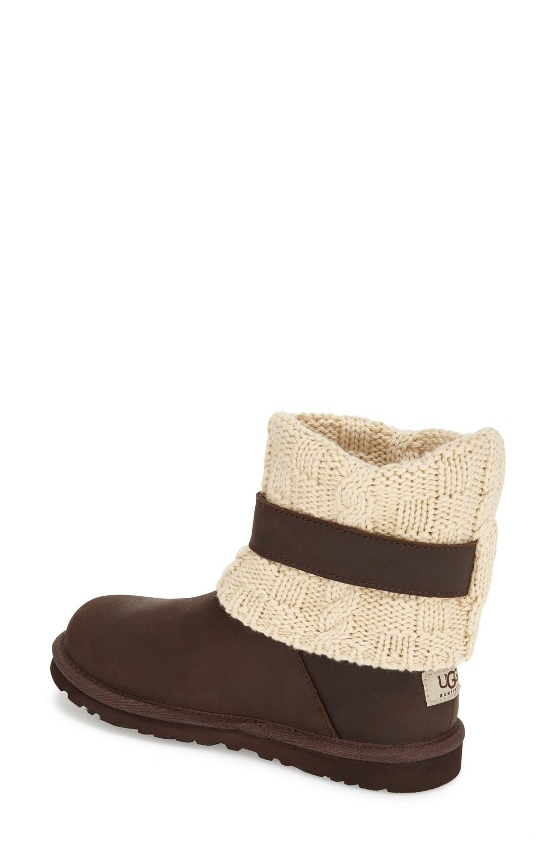 Alternate Image 2  - UGG® 'Cassidee' Cable Knit Boot (Women)