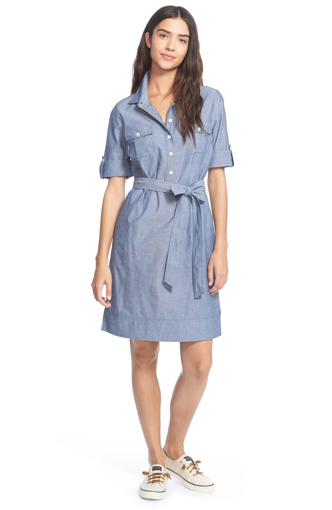 Main Image - Vineyard Vines 'Oxford' Shirtdress