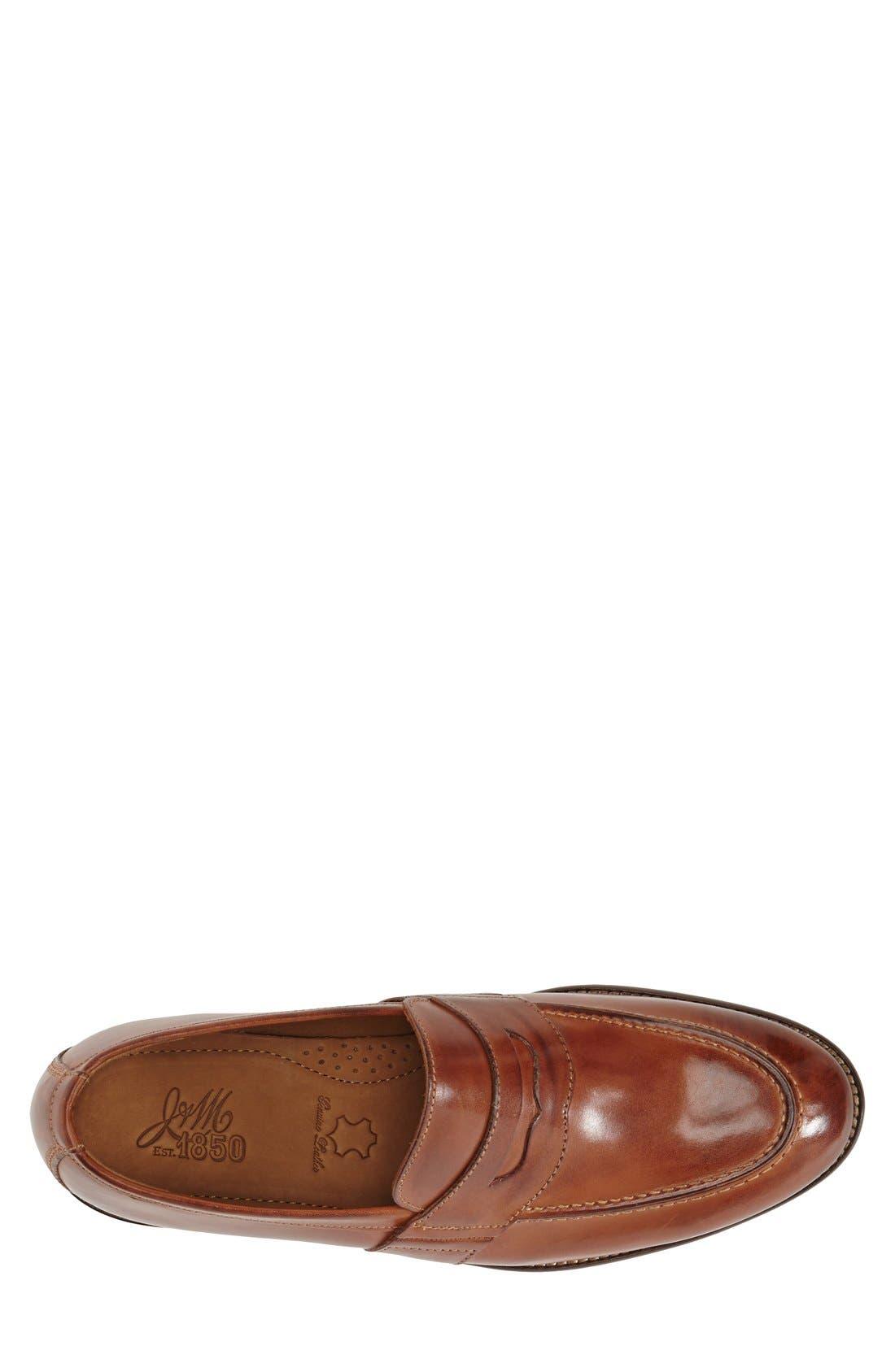 Alternate Image 3  - J & M 1850 'Allred' Penny Loafer (Men) (Nordstrom Exclusive)