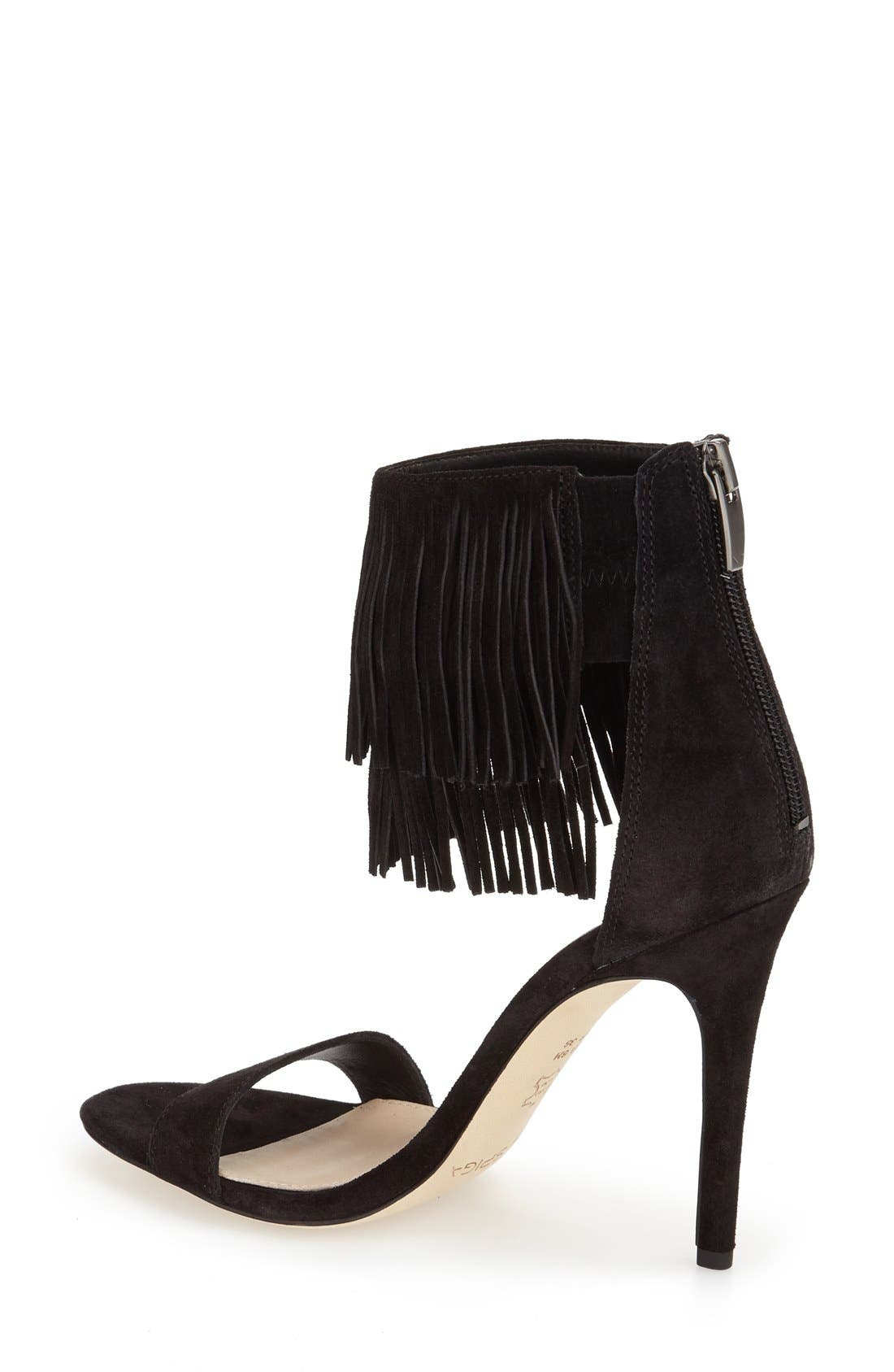 Alternate Image 2  - Via Spiga 'Tabia' Fringe Sandal (Women)