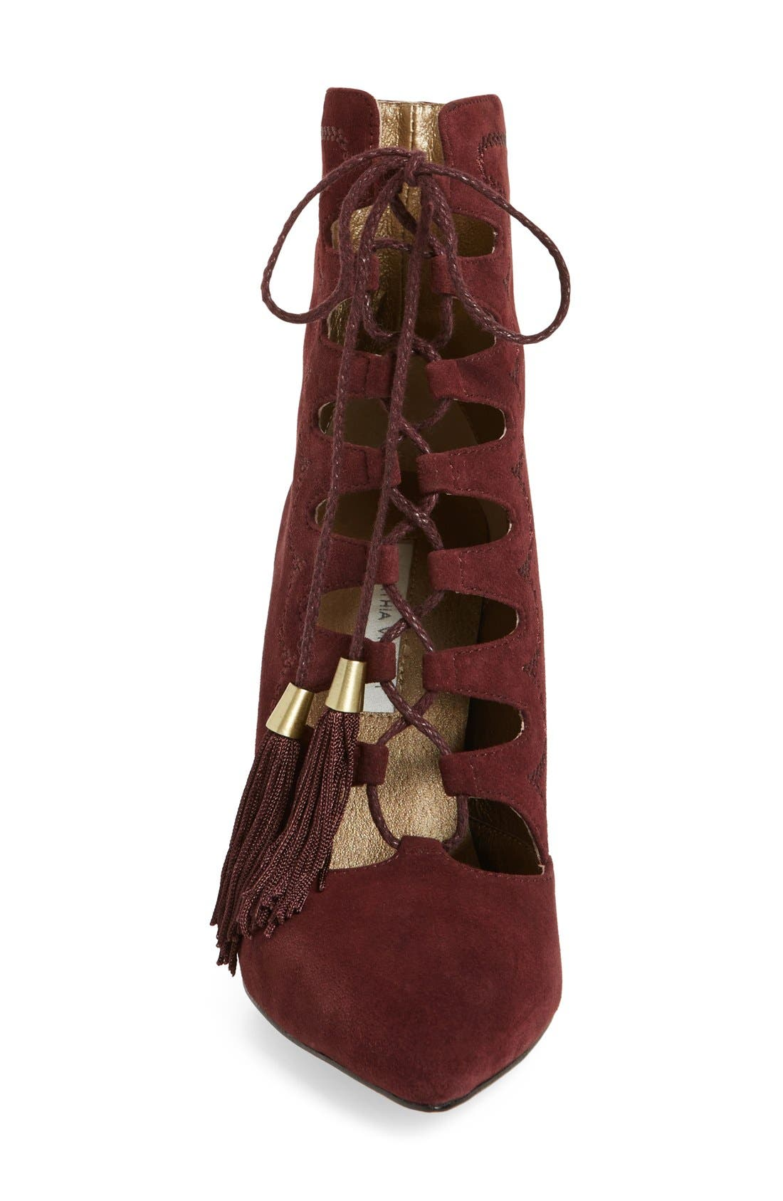 Alternate Image 3  - Cynthia Vincent 'Harp' Lace Up Bootie(Women)
