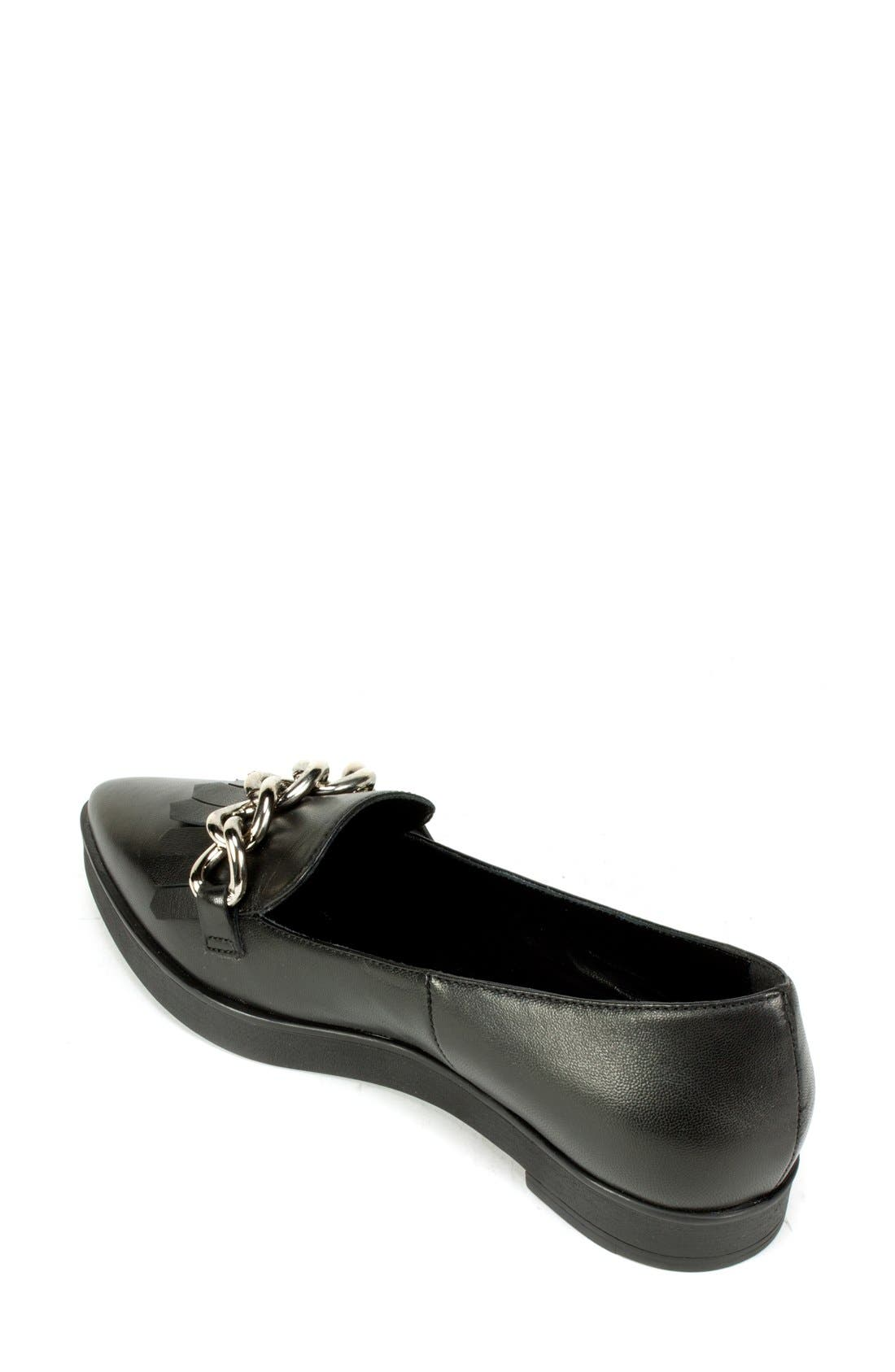 Alternate Image 2  - Summit 'Elena' Fringed Platform Loafer (Women)