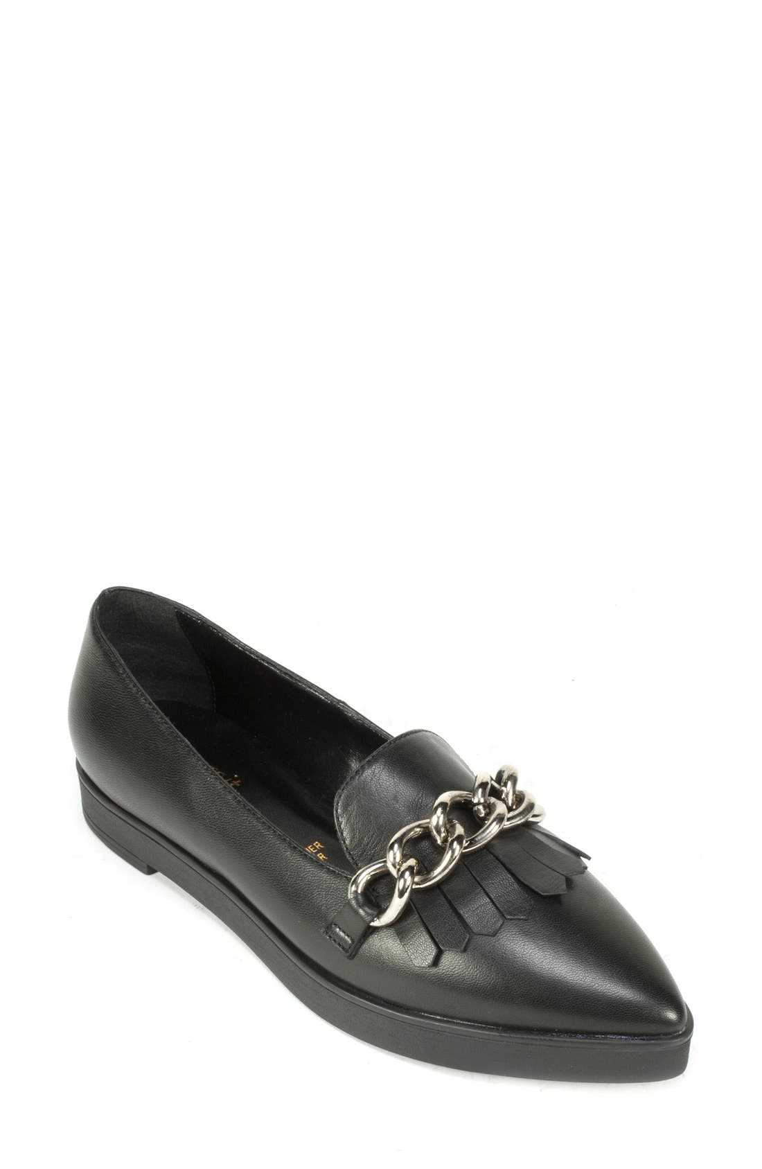 Alternate Image 1 Selected - Summit 'Elena' Fringed Platform Loafer (Women)