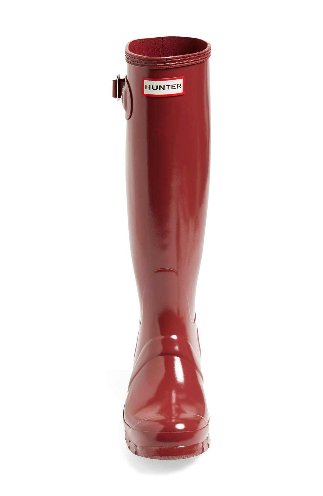Alternate Image 6  - Hunter Original High Gloss Boot (Women)