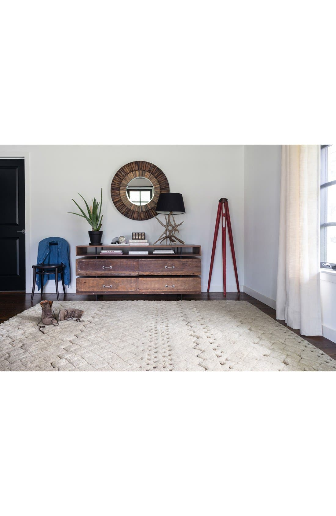 Alternate Image 2  - Loloi 'Tanzania' Wool & Jute Area Rug