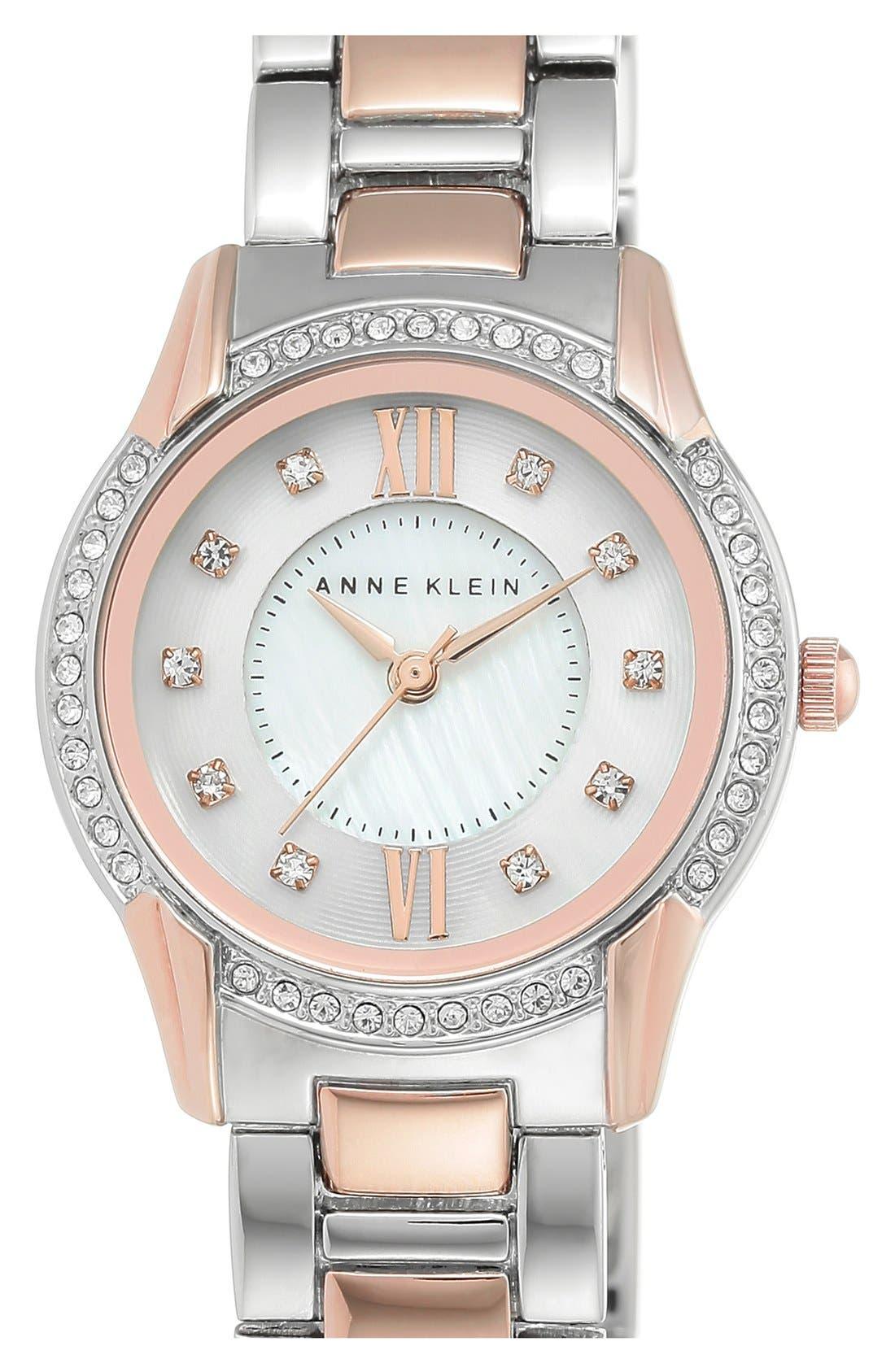 Main Image - Anne Klein Round Bracelet Watch, 28mm