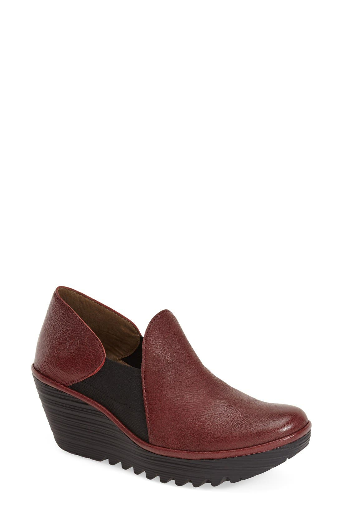 Alternate Image 1 Selected - Fly London 'Yua' Platform Wedge Pump (Women)
