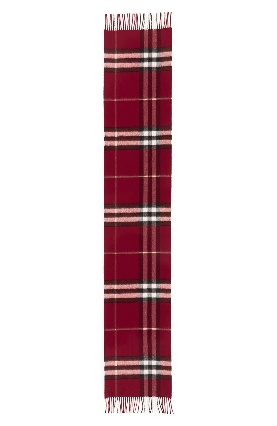 Alternate Image 1 Selected - Burberry 'Giant Check' Cashmere Scarf