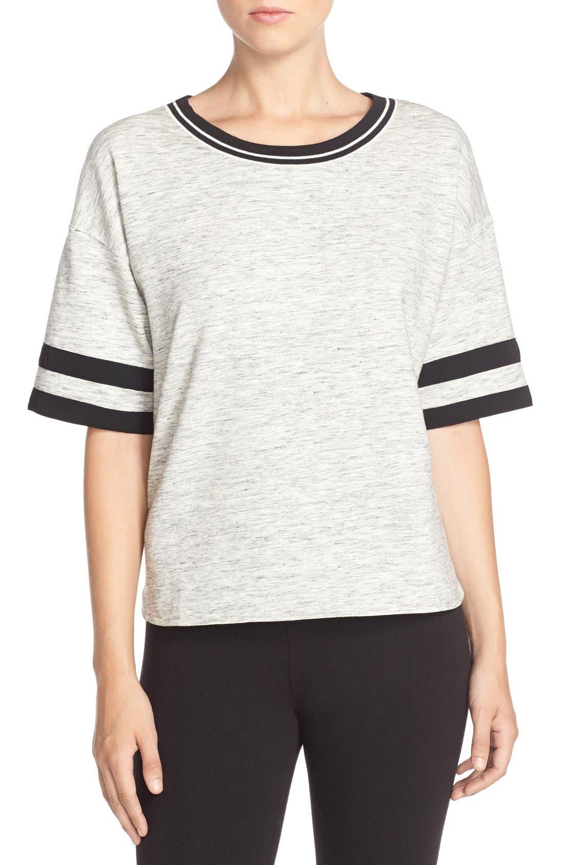 Alternate Image 1 Selected - DKNYShort Sleeve Top