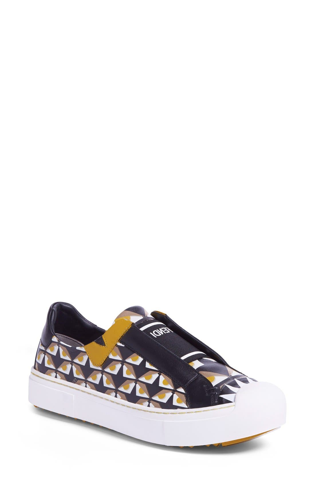 Alternate Image 1 Selected - Fendi 'Bugs' Slip-On Sneaker (Women)
