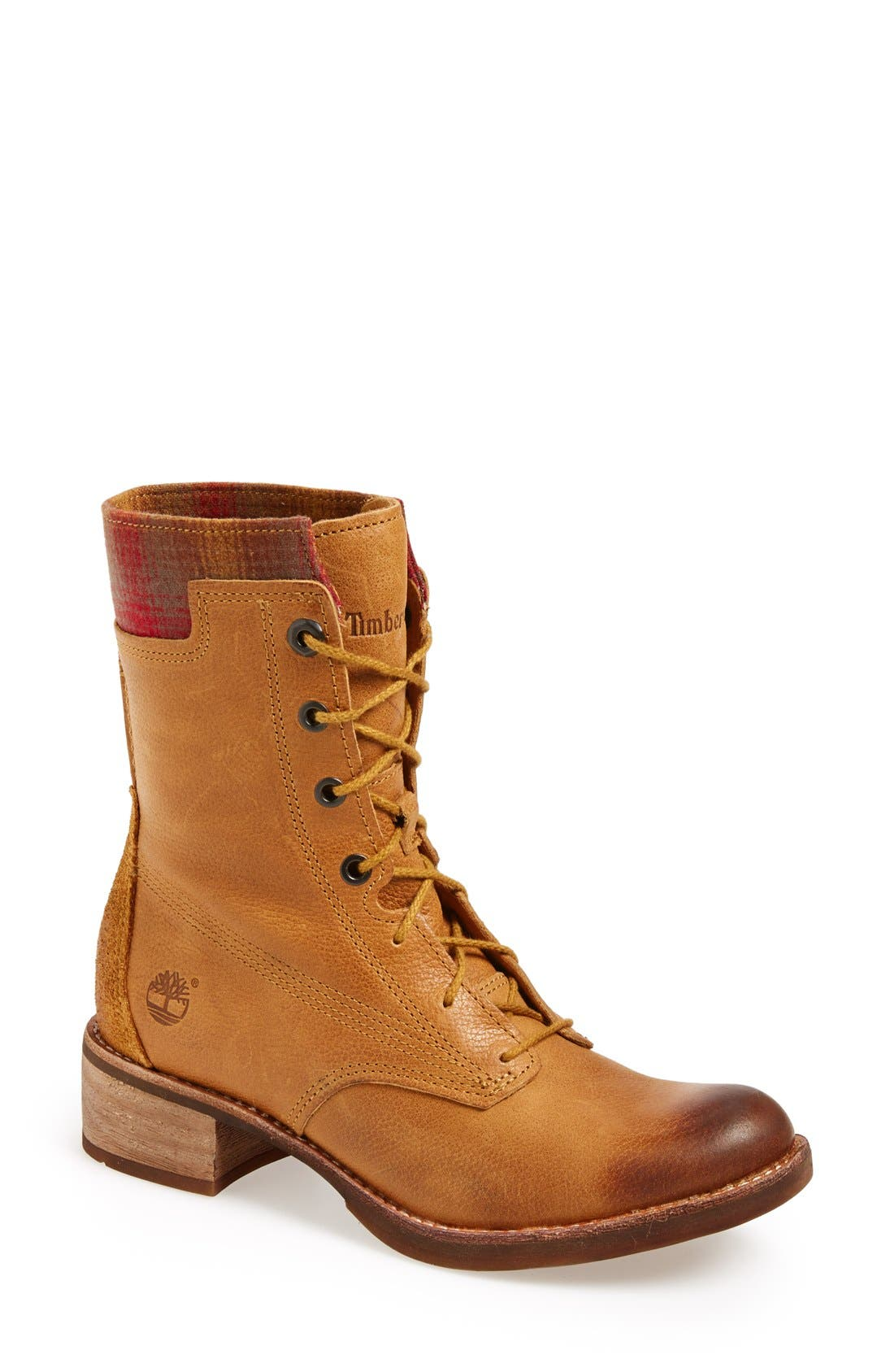 Alternate Image 1 Selected - Timberland 'Whitermore' Mid Lace Up Boot (Women)
