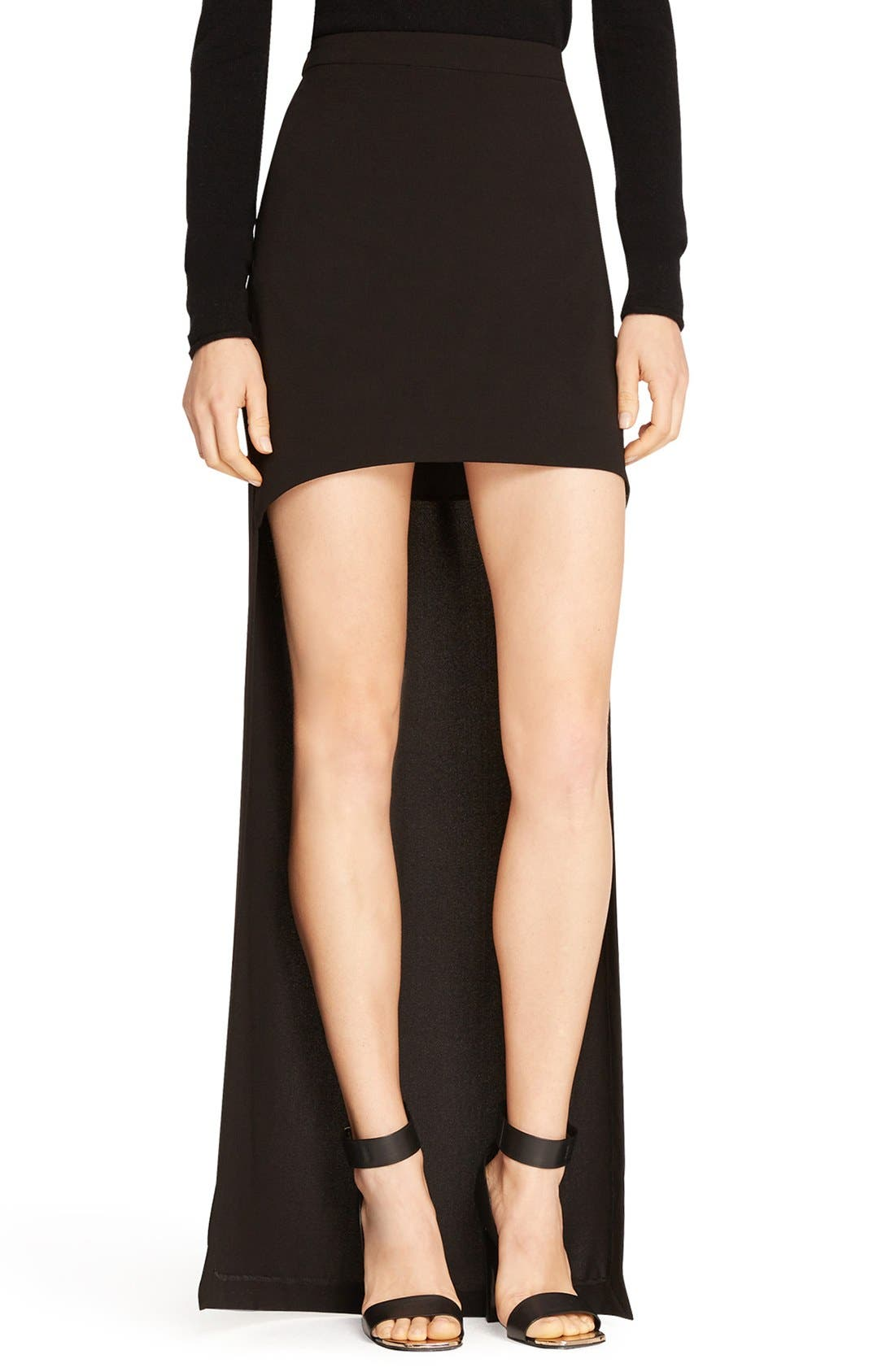 Main Image - Halston Heritage High/Low Skirt