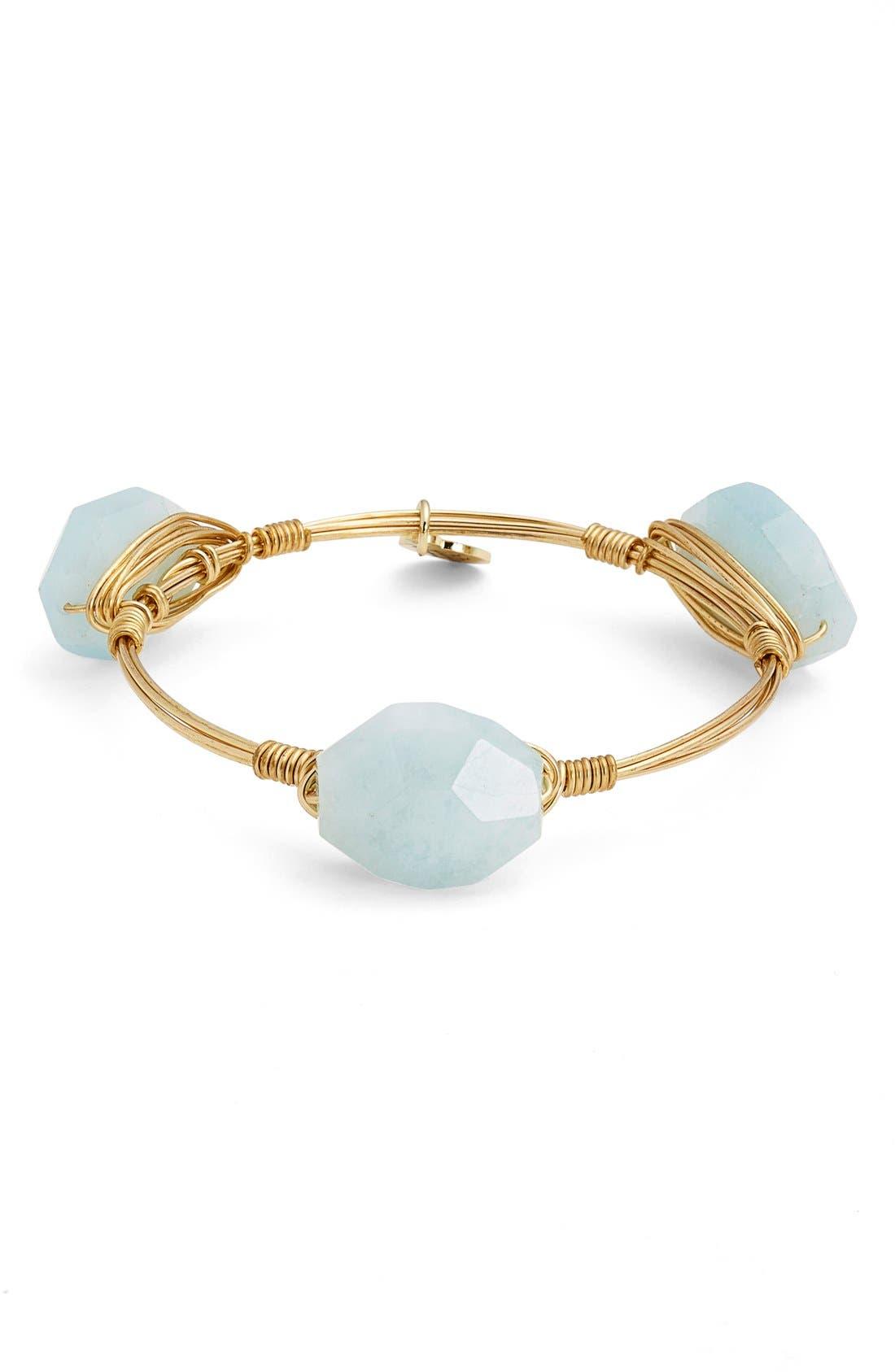 Main Image - Bourbon and Boweties Small Stone Bracelet