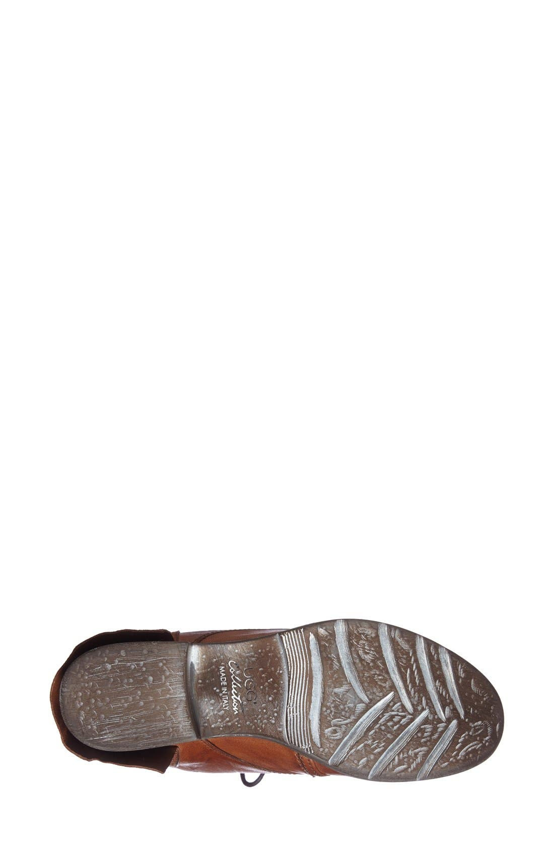 Alternate Image 4  - UGG® Collection 'Tesa' Lace-Up Ankle Boot (Women)