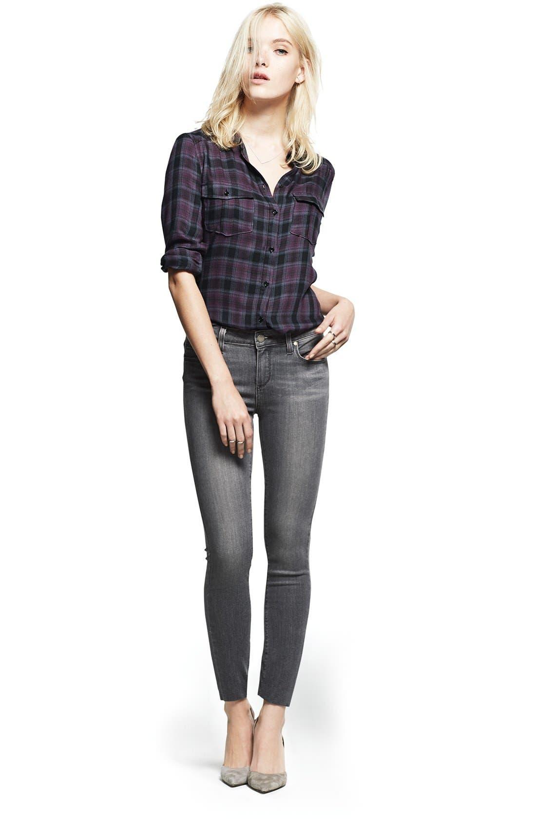 Alternate Image 5  - Paige Denim 'Mya' Plaid Shirt