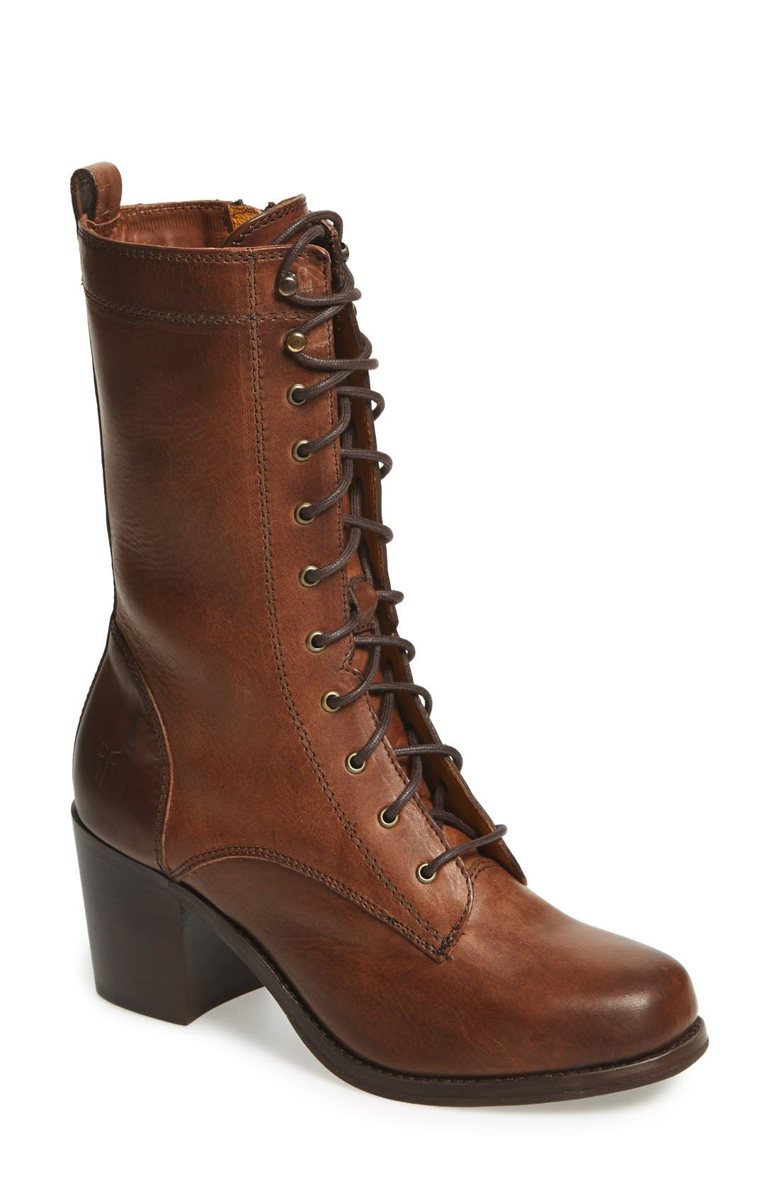 Alternate Image 1 Selected - Frye 'Kendall' Lace-Up Boot (Women)