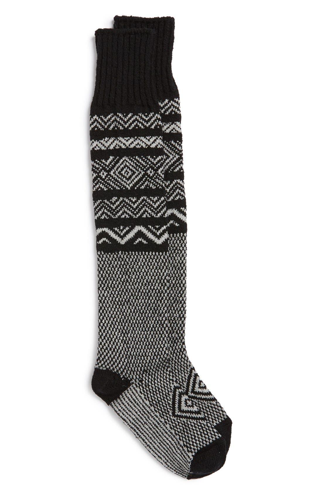 Alternate Image 1 Selected - Peony & Moss Scandinavian Knee High Socks