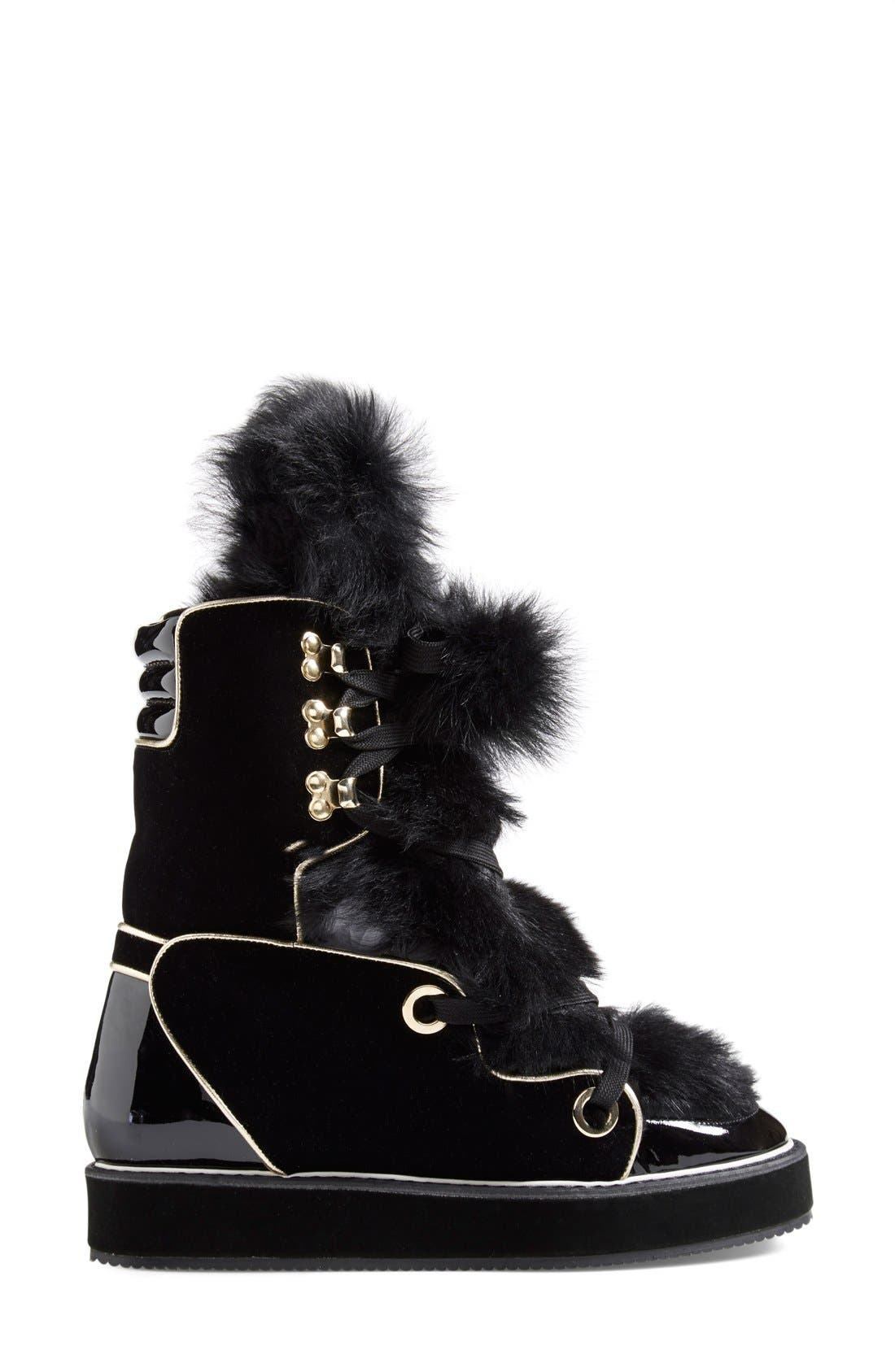 Alternate Image 4  - Nicholas Kirkwood 'Polly Neige' Snow Boot (Women)
