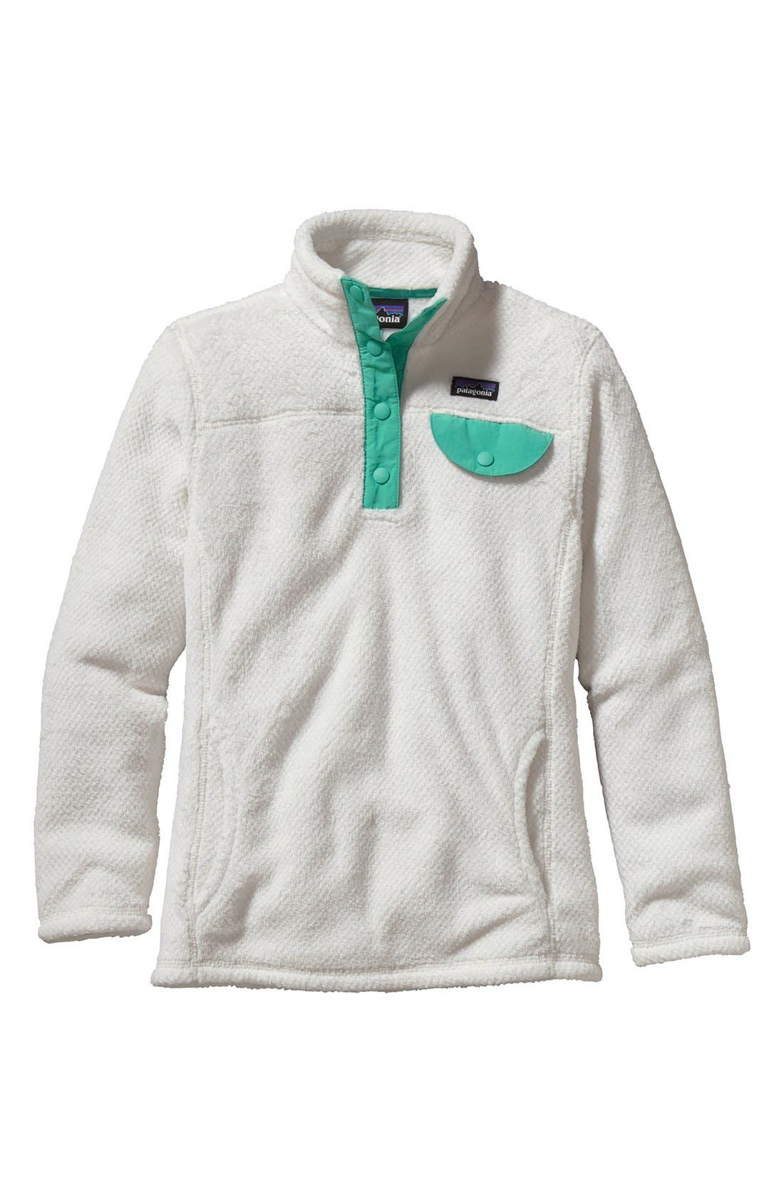 Alternate Image 1 Selected - Patagonia 'Re-Tool Snap-T®' Pullover (Little Girls & Big Girls)