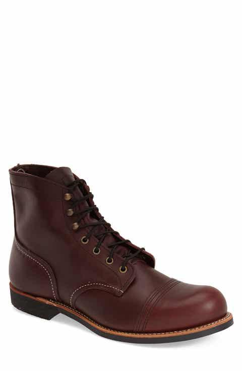 Red Wing 'Iron Ranger' 6 Inch Cap Toe Boot (Men)