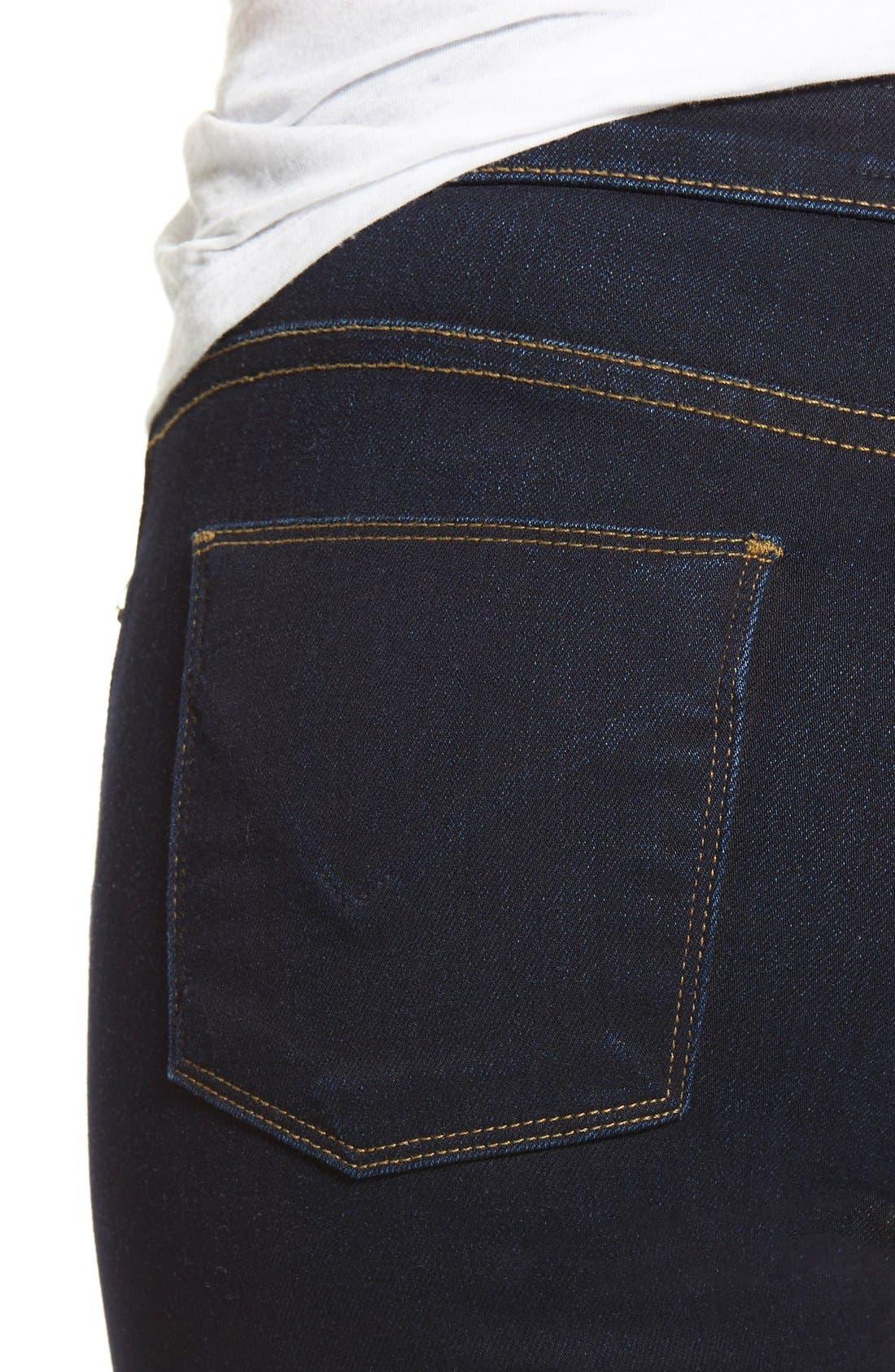 Alternate Image 4  - Hudson 'Krista' Super Skinny Jeans