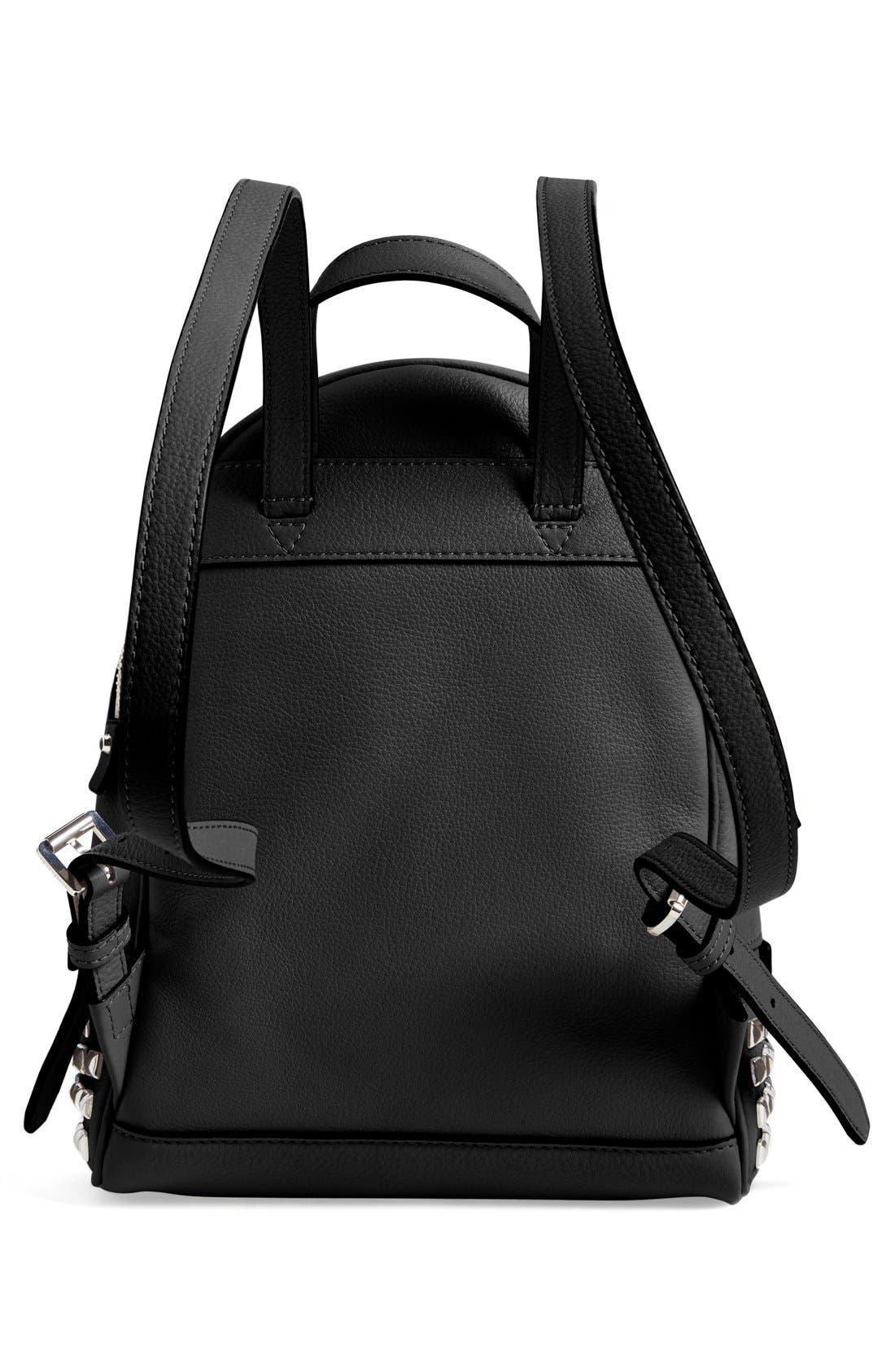Alternate Image 3  - MICHAEL Michael Kors 'Small Rhea Zip' Studded Backpack