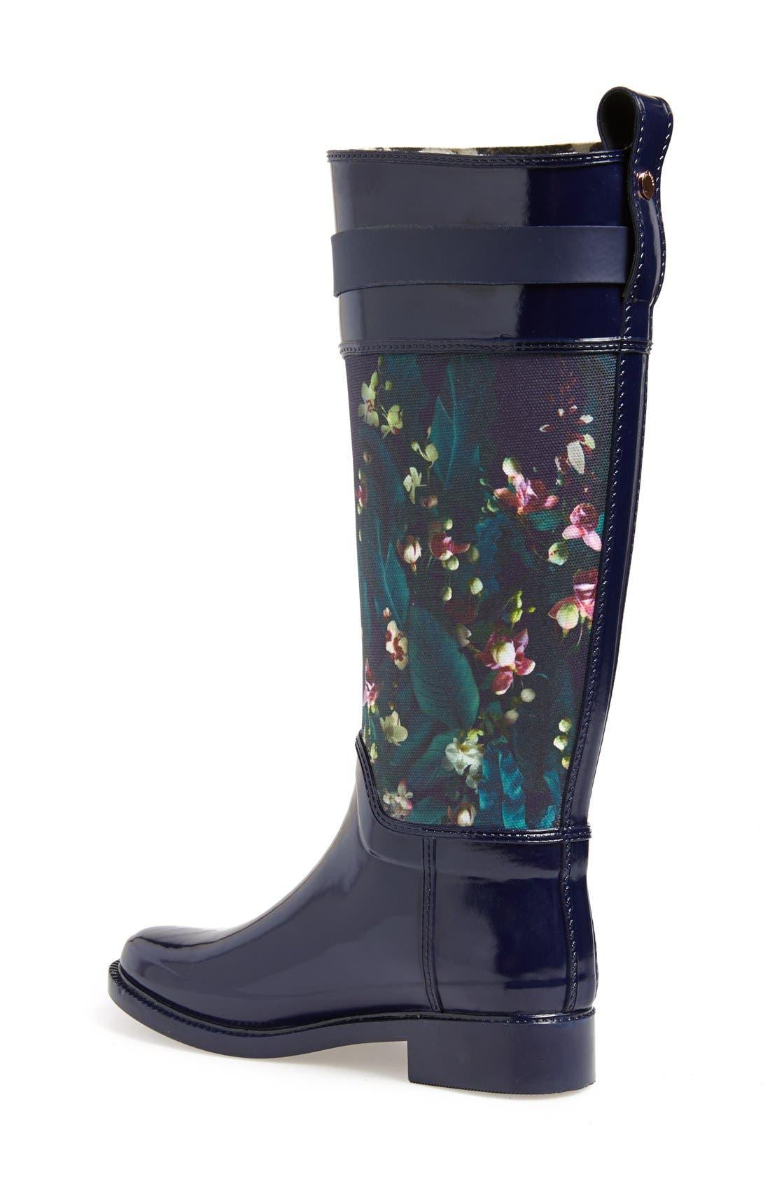 Alternate Image 2  - Ted Baker London 'Hampto' Waterproof Rain Boot (Women)