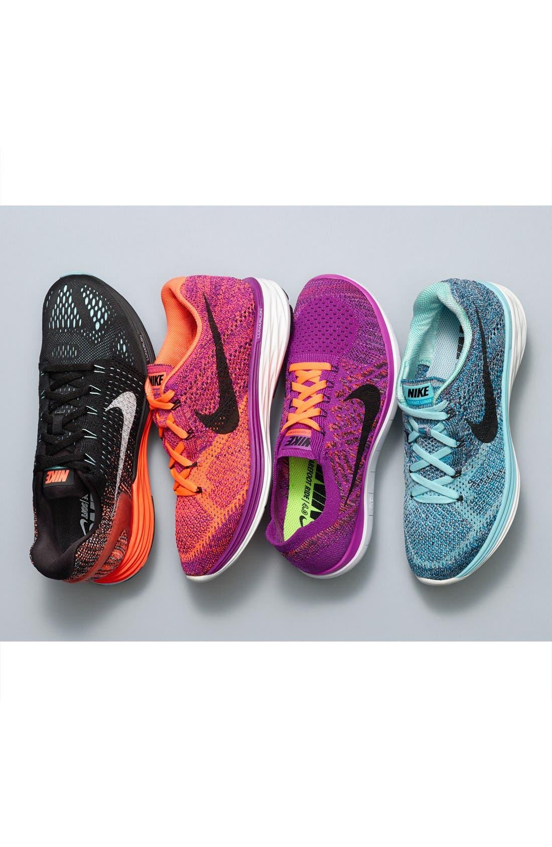 Alternate Image 5  - Nike 'Flyknit Lunar 3' Running Shoe (Women)