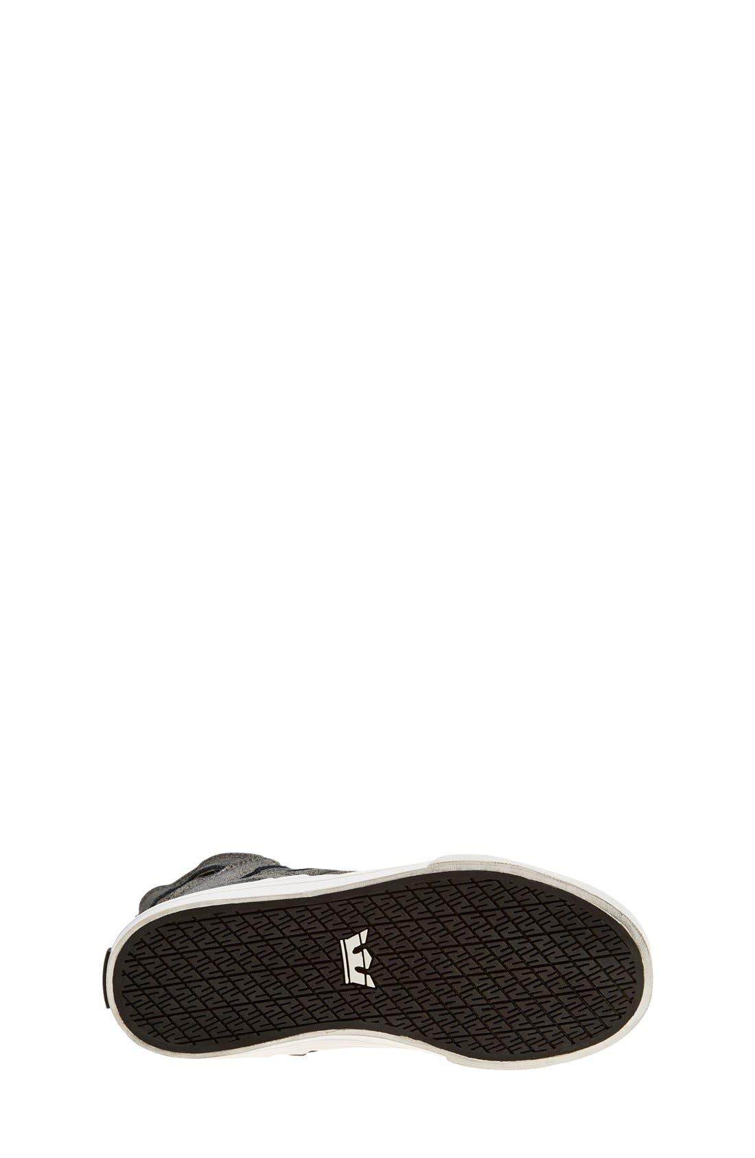 Alternate Image 4  - Supra 'Skytop' High Top Sneaker (Toddler, Little Kid & Big Kid)