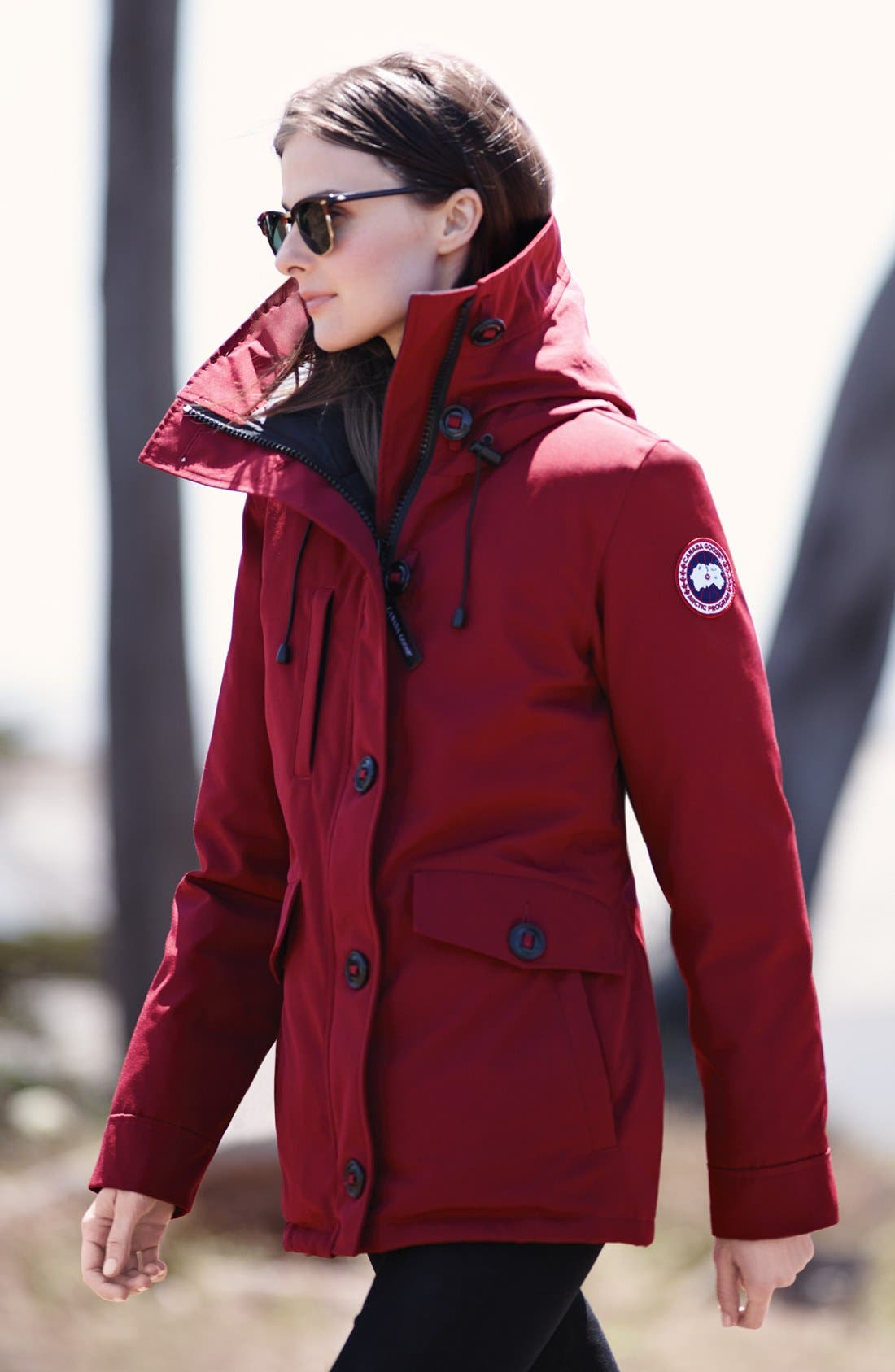 Alternate Image 2  - Canada Goose 'Rideau' Slim Fit Down Parka