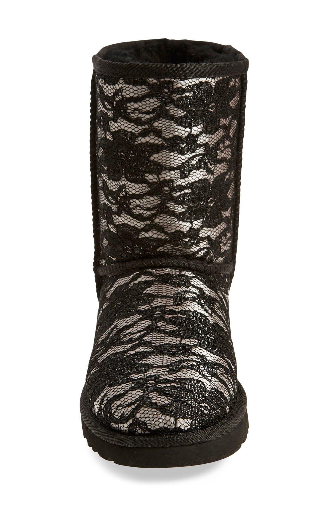 Alternate Image 3  - UGG® 'Classic Short Antoinette' Boot (Women)