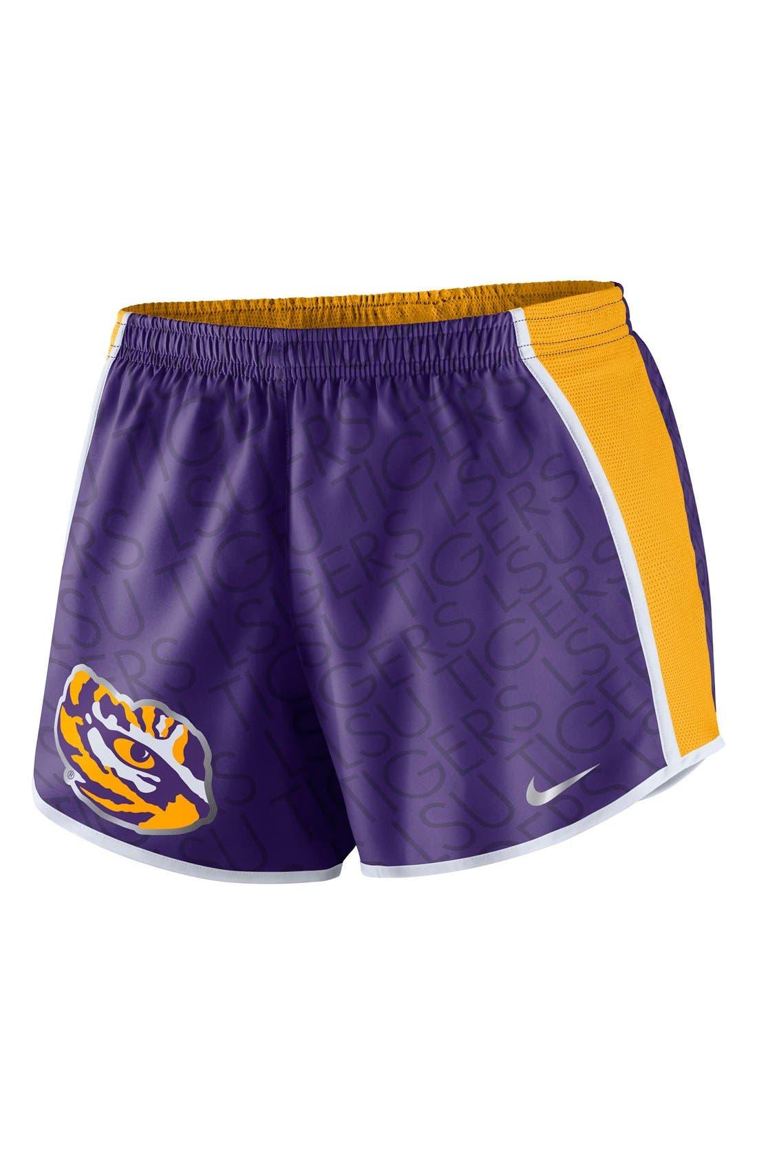 Main Image - Nike 'Champ Drive - Louisiana State University' Logo Dri-FIT Shorts