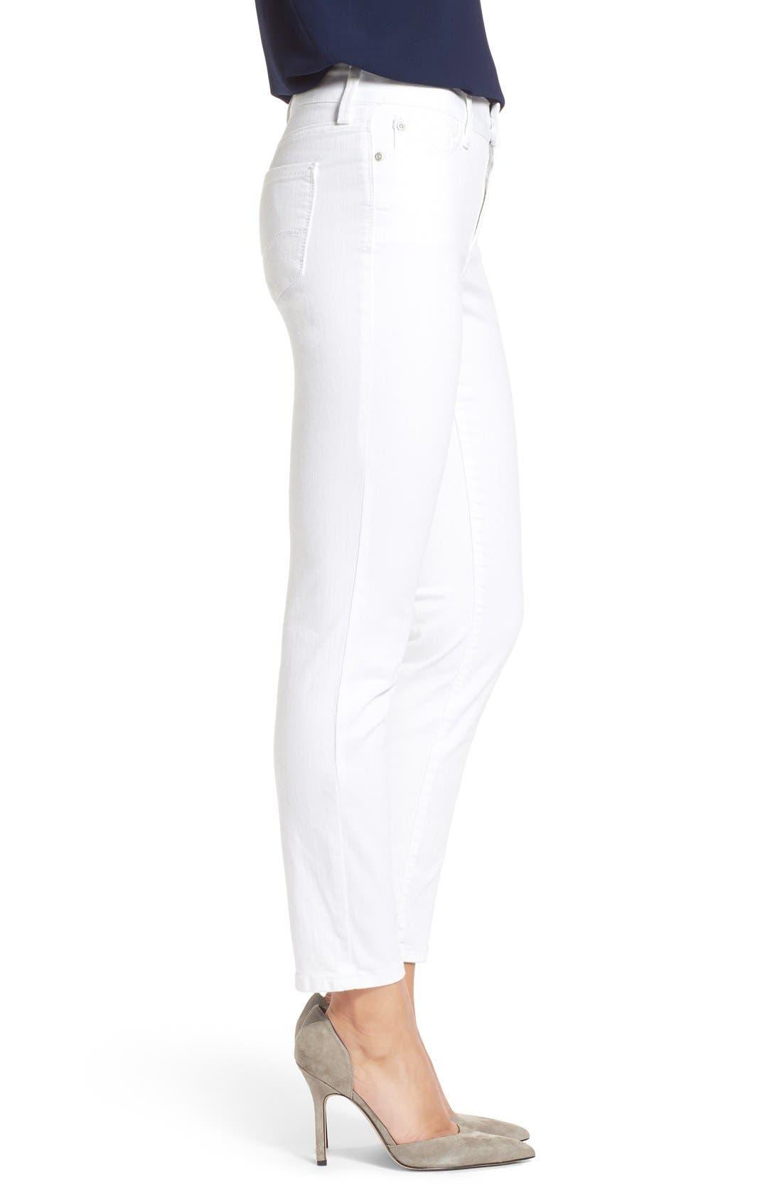 Alternate Image 3  - NYDJ Clarissa Colored Stretch Ankle Skinny Jeans (Regular & Petite)