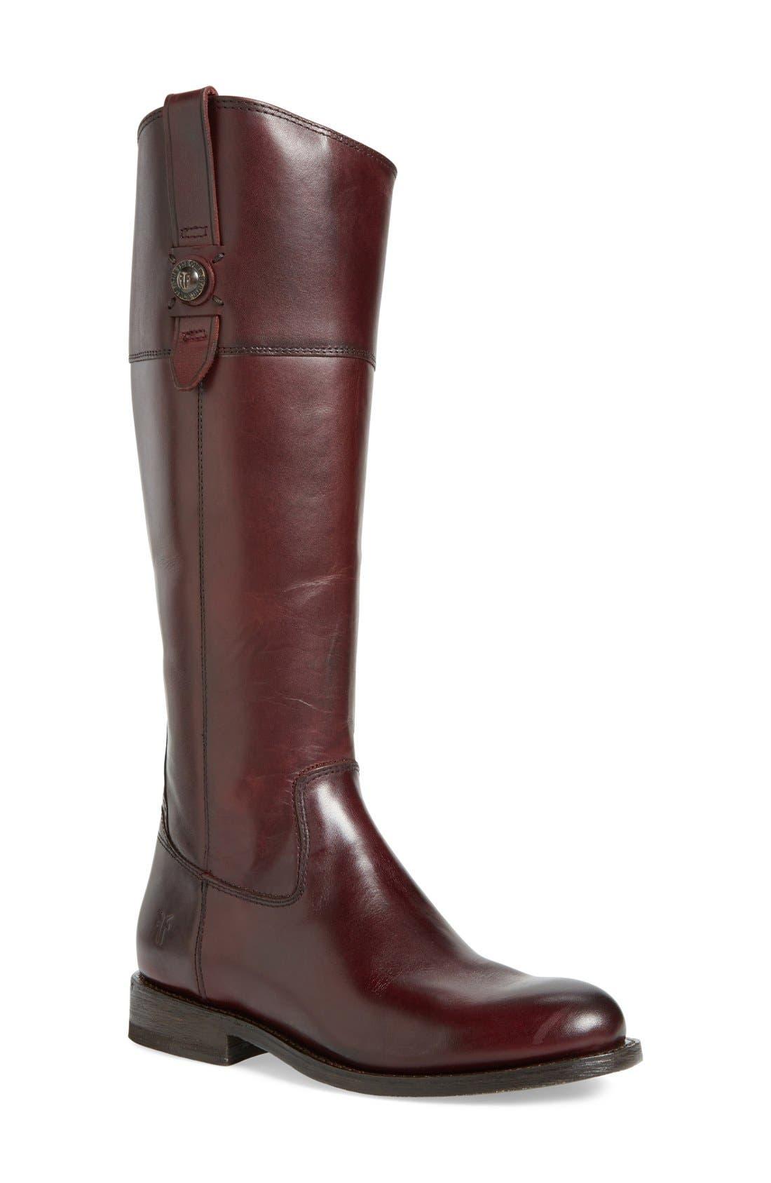 Main Image - Frye'JaydenButton' Tall Boot (Women)