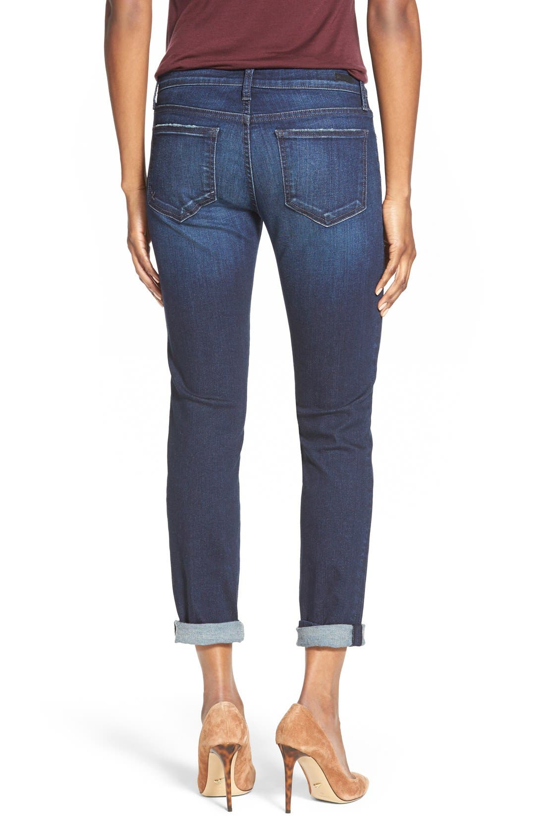 Alternate Image 2  - KUT from the Kloth 'Catherine' Boyfriend Jeans (Luxury)