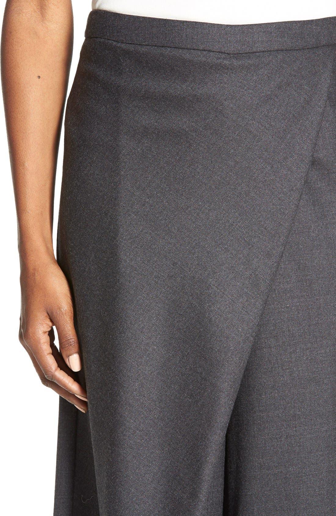 Alternate Image 4  - Eileen Fisher Wool Twill Sarong Pants  (Regular & Petite)