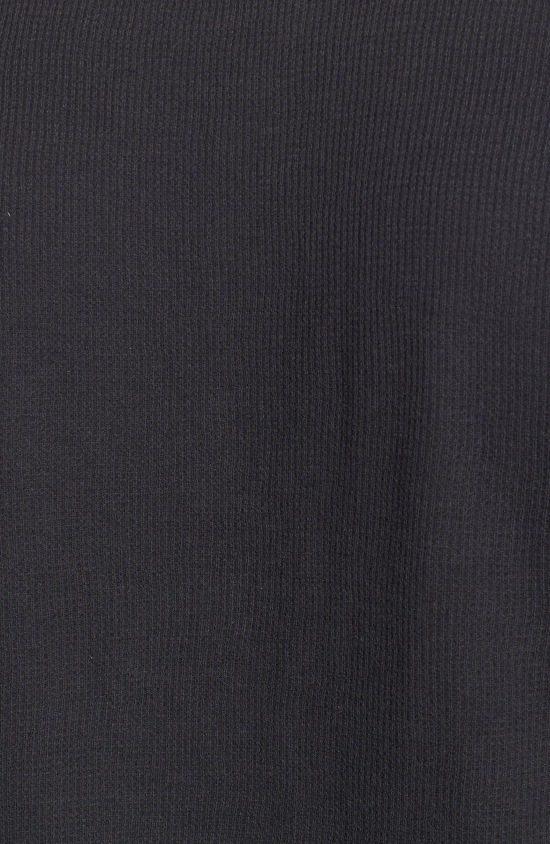 Alternate Image 5  - Nordstrom Men's Shop Waffle Knit Long Sleeve T-Shirt